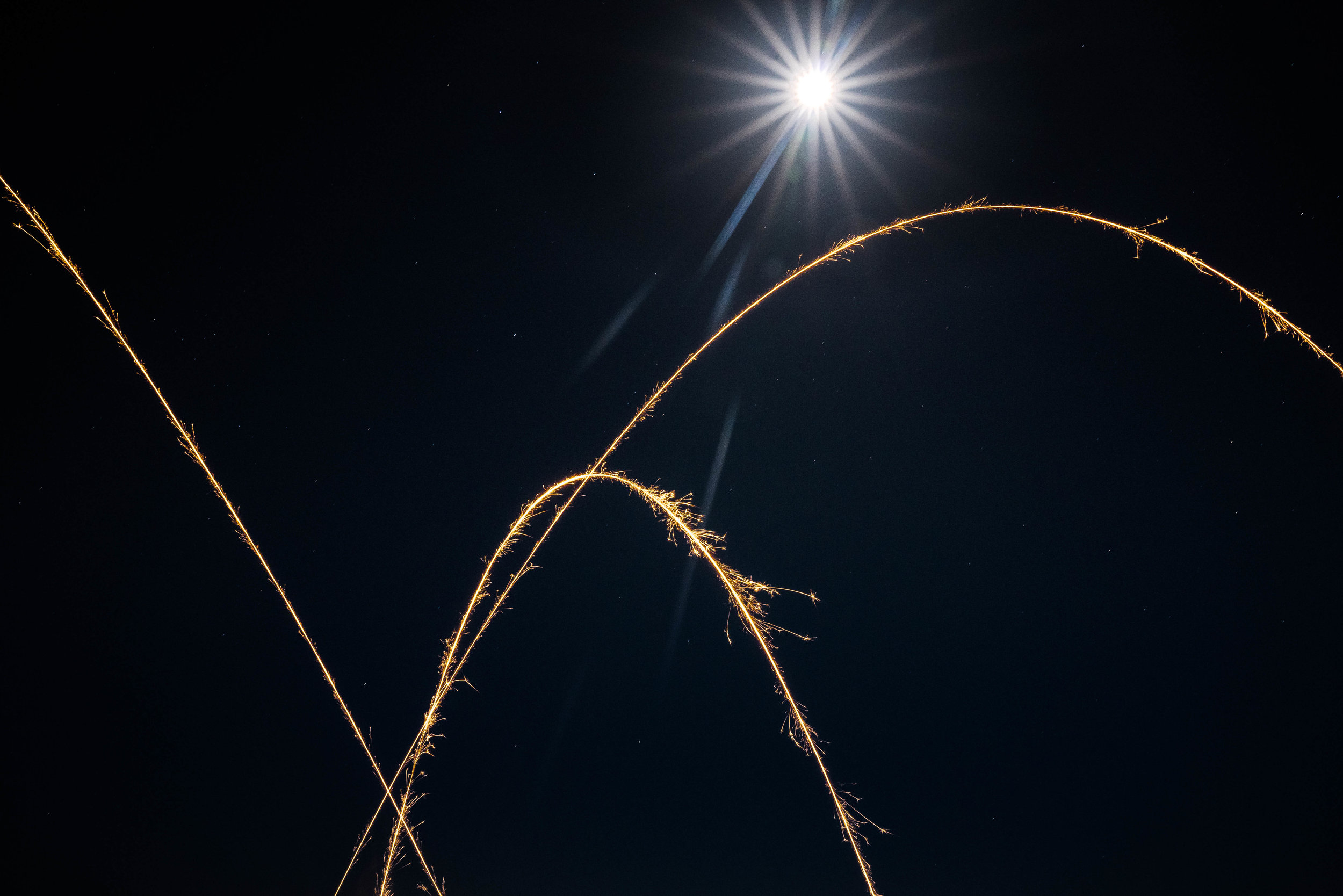 Moon Beams and Sparklers