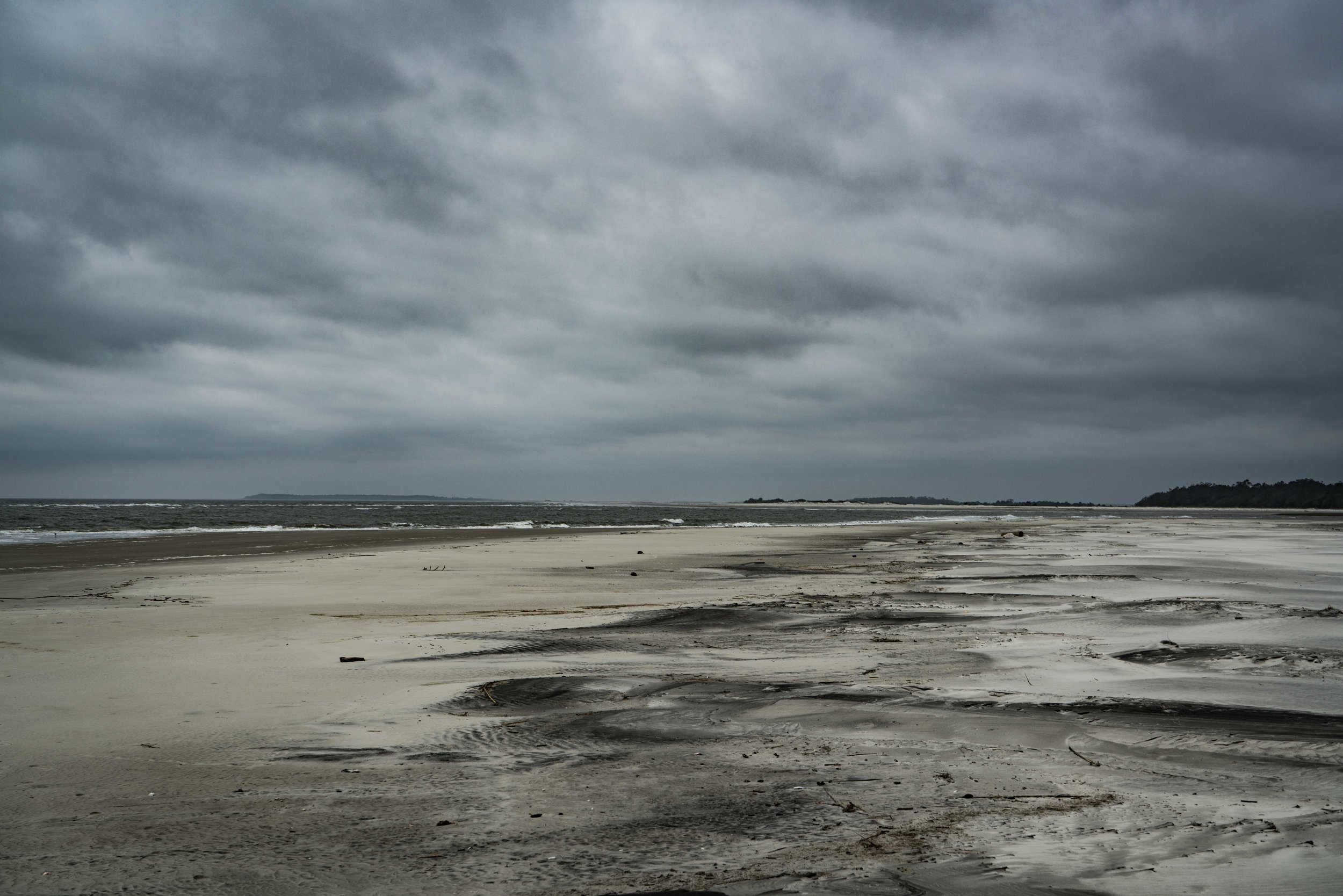 Stormy clouds over the beach on Little Tybee Island via micahdeyoung.com