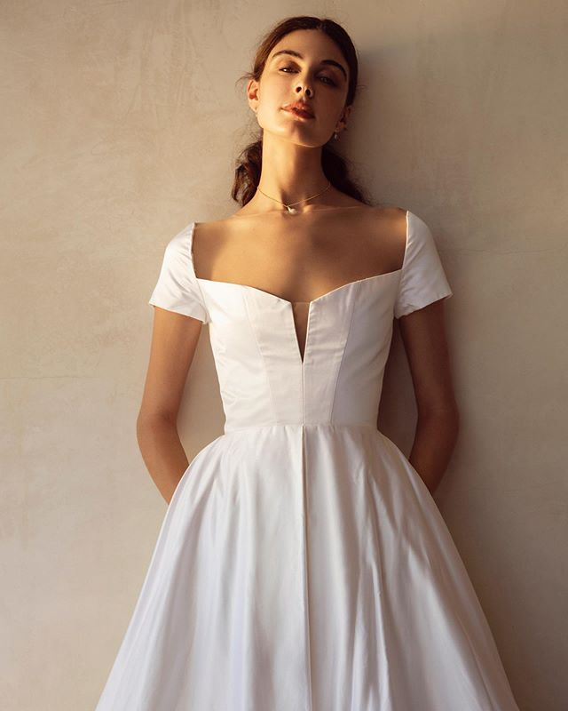 Our next Flagship opens 9.12, any guesses as to where?  Gown: Grace  Photo by @thismodernromance