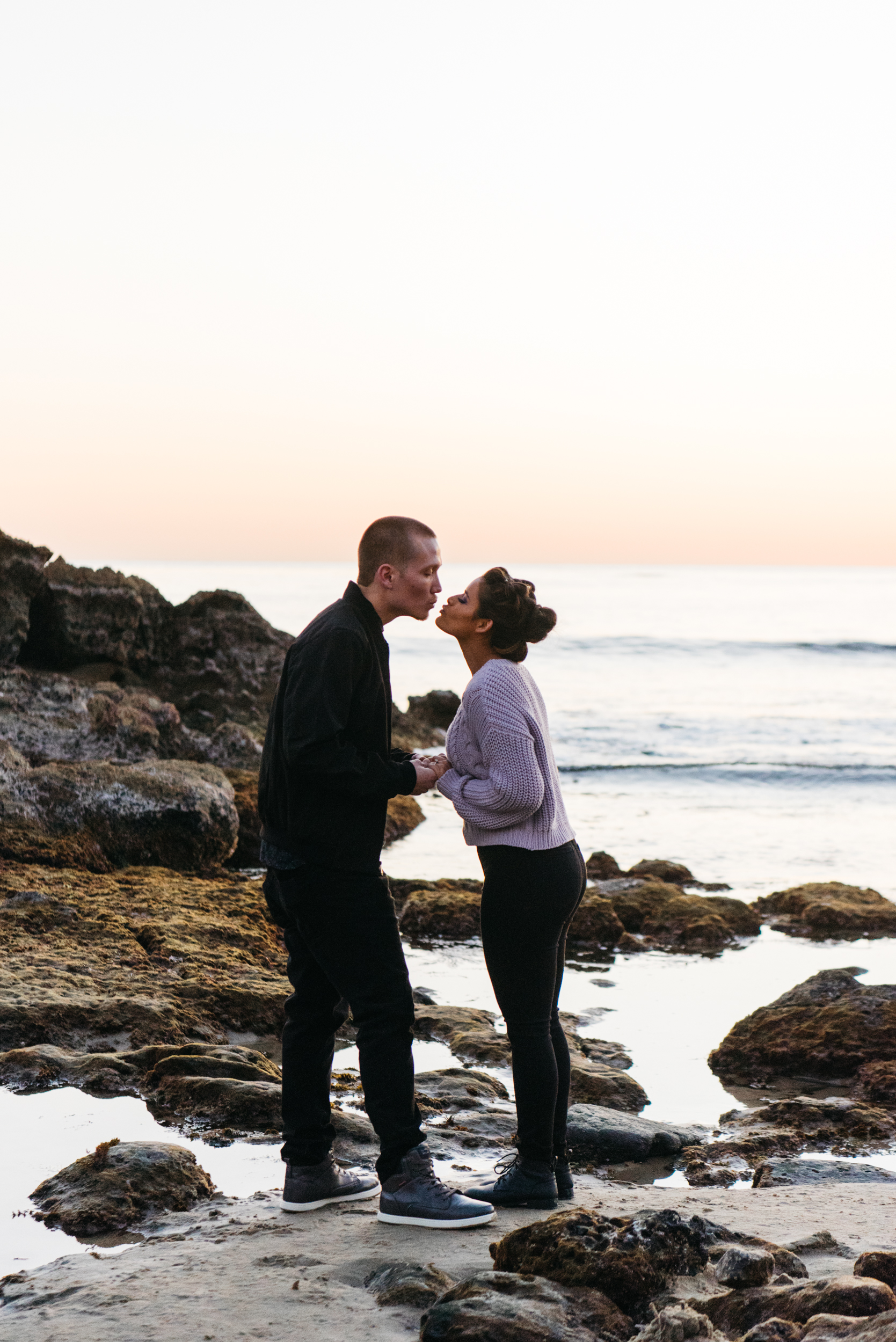 - Zach and Diana//Laguna Beach Sunset Proposal