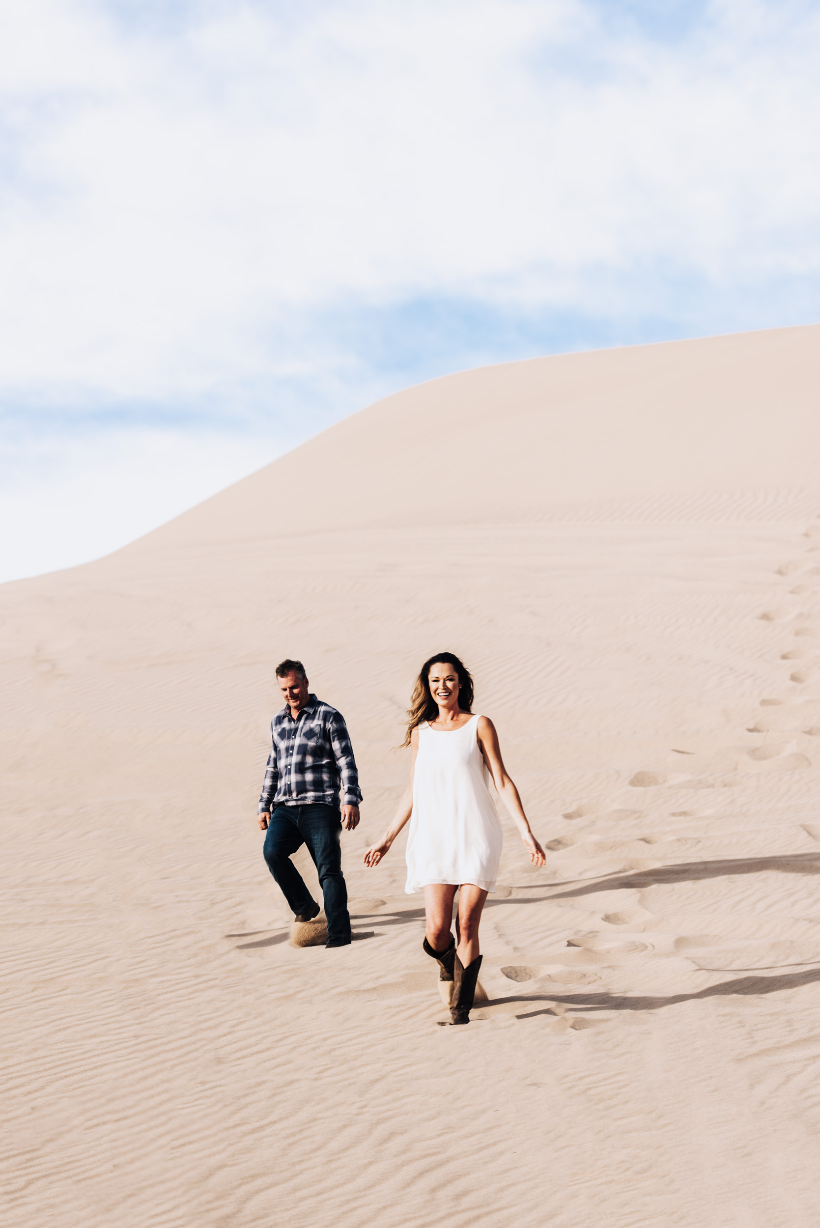 - Chris and Lauren//Imperial Sand Dunes