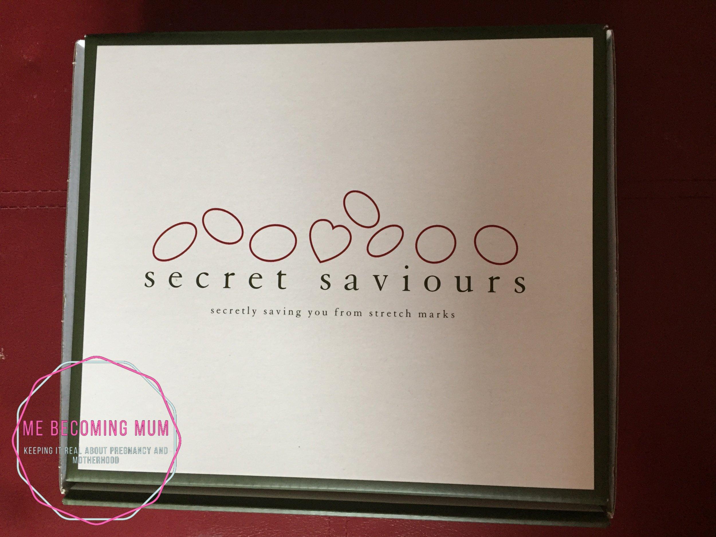 Secret Saviours belly band and cream kit