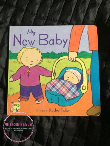 My new baby board book