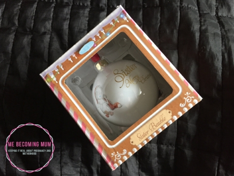 """Me to You """"Sister"""" bauble"""