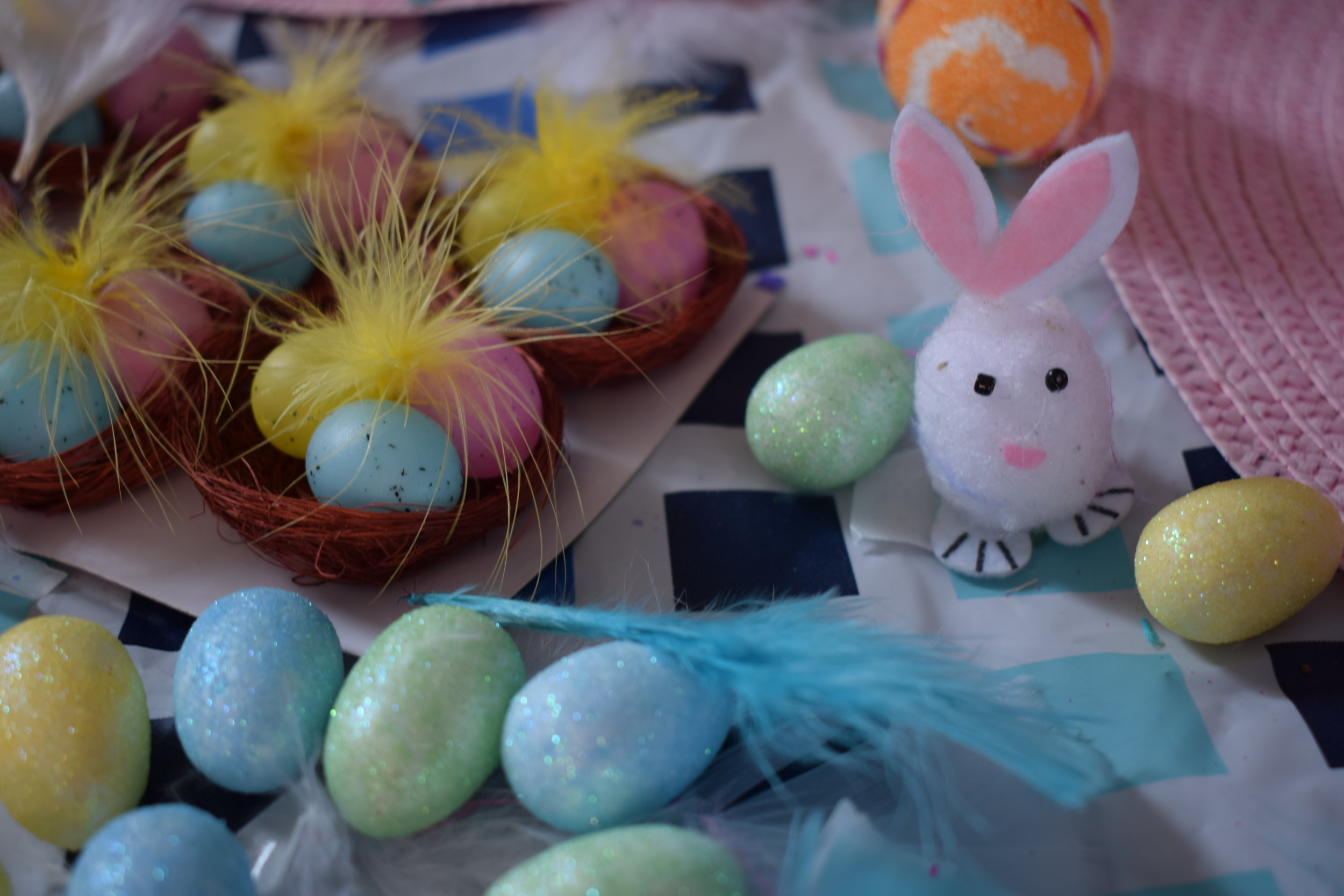 Easter bonnets © mebecomingmum