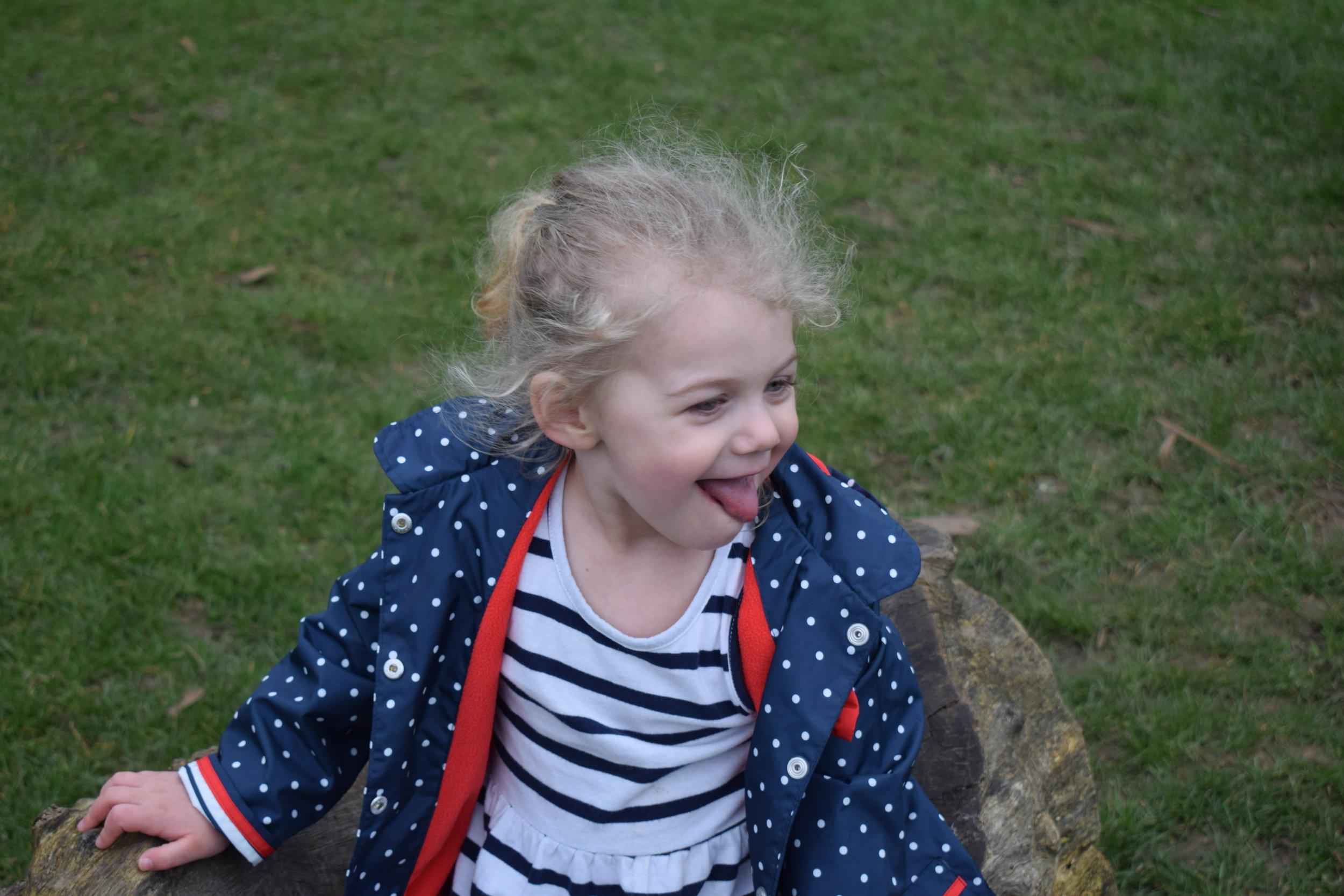 cheeky toddler © mebecomingmum