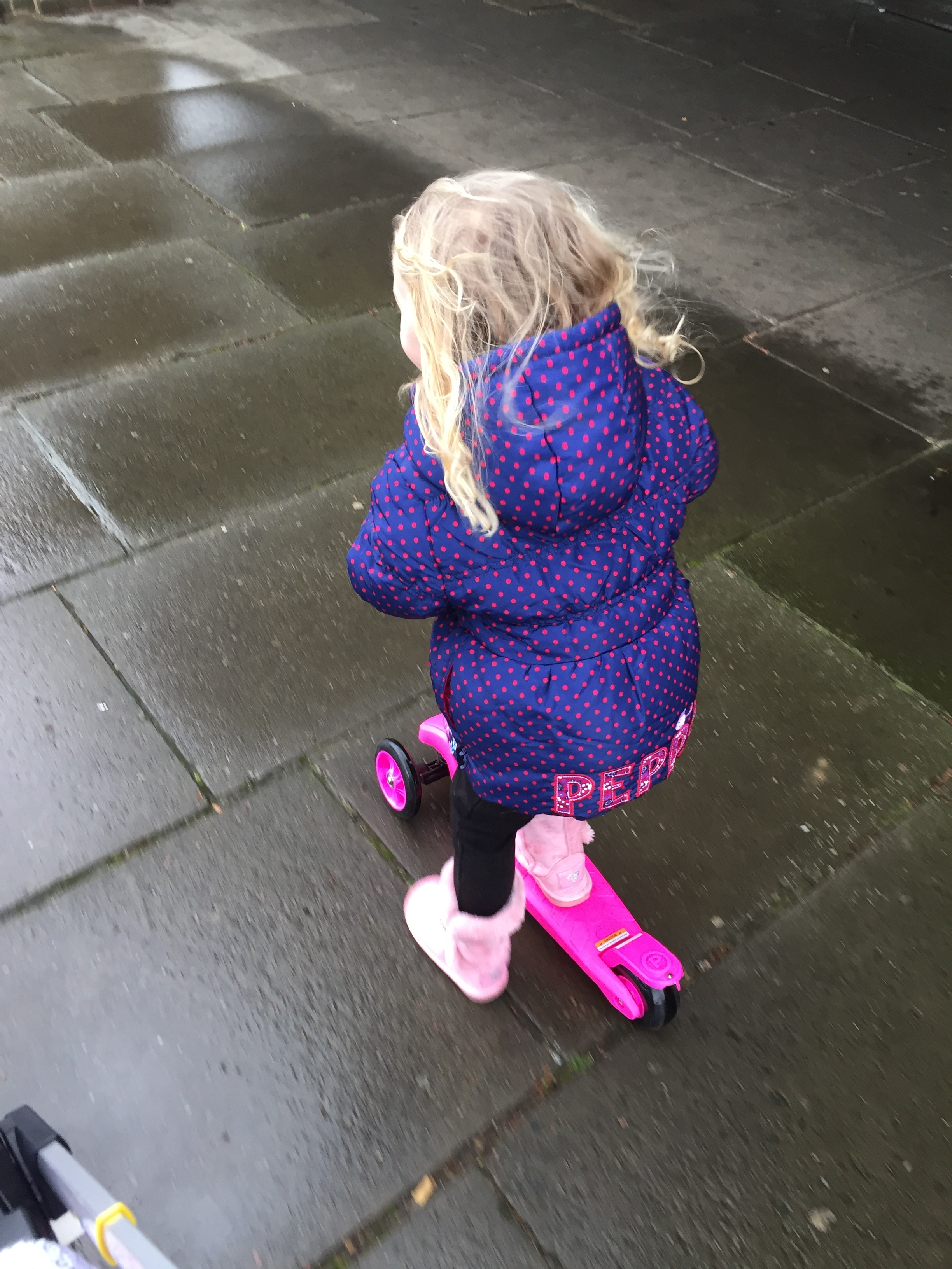 toddler on scooter © mebecomingmum