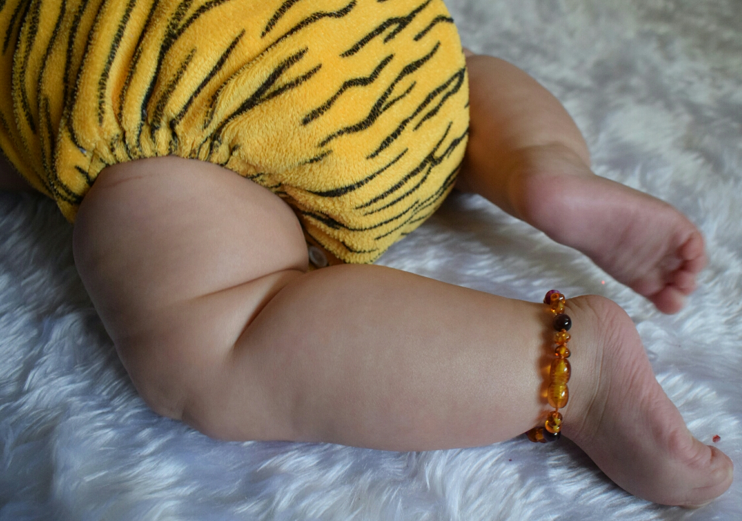 Love Amber X baltic amber anklet