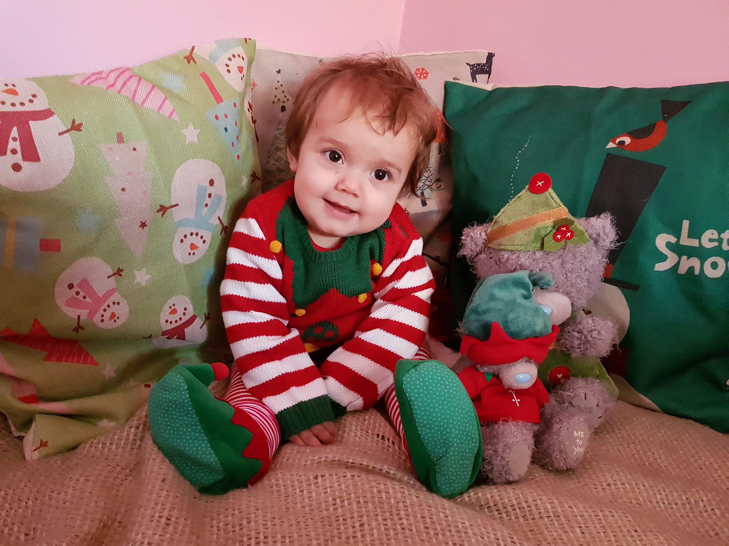 Asda George Christmas Elf Jumper