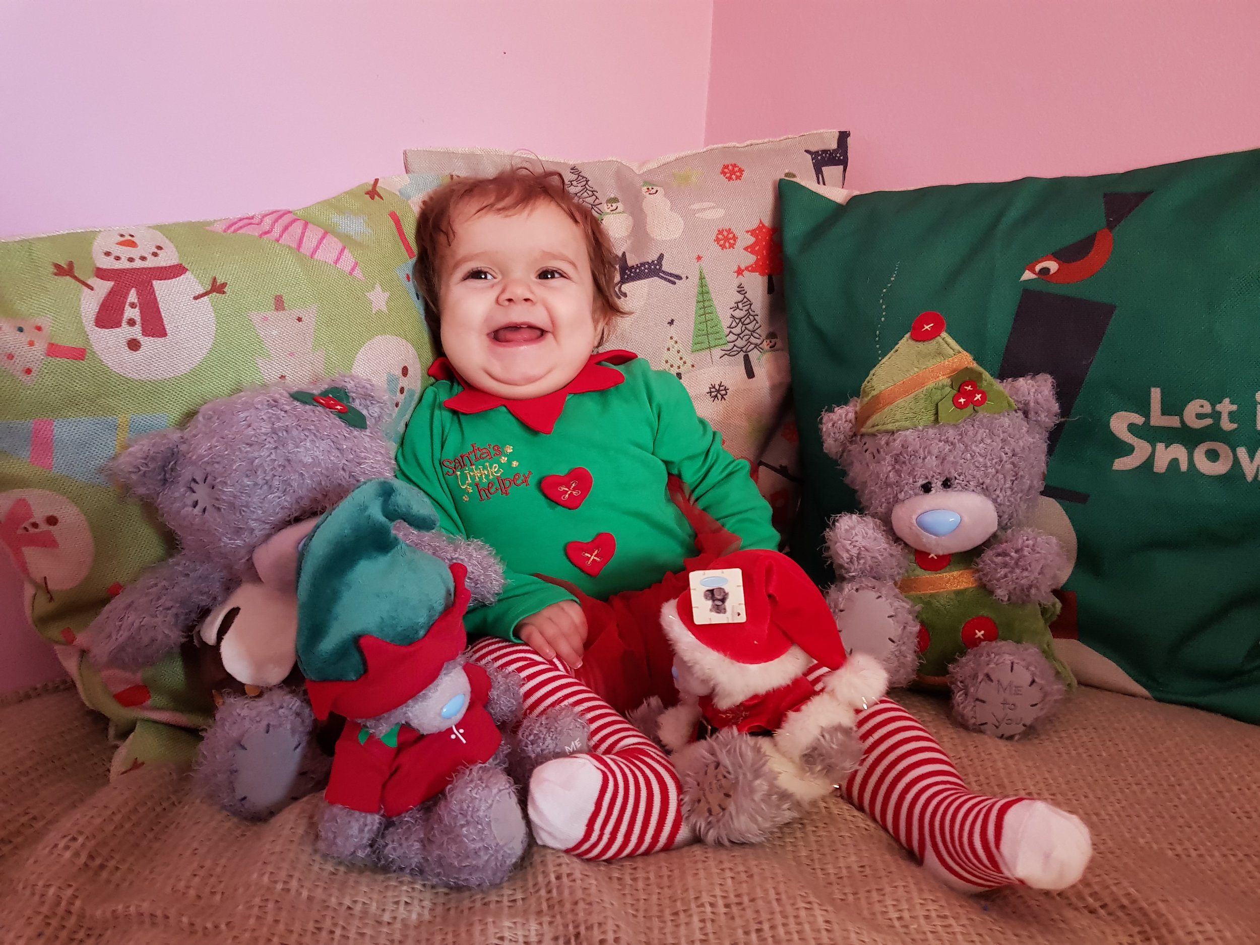 Asda George Santa's Little Helper Elf Pyjamas