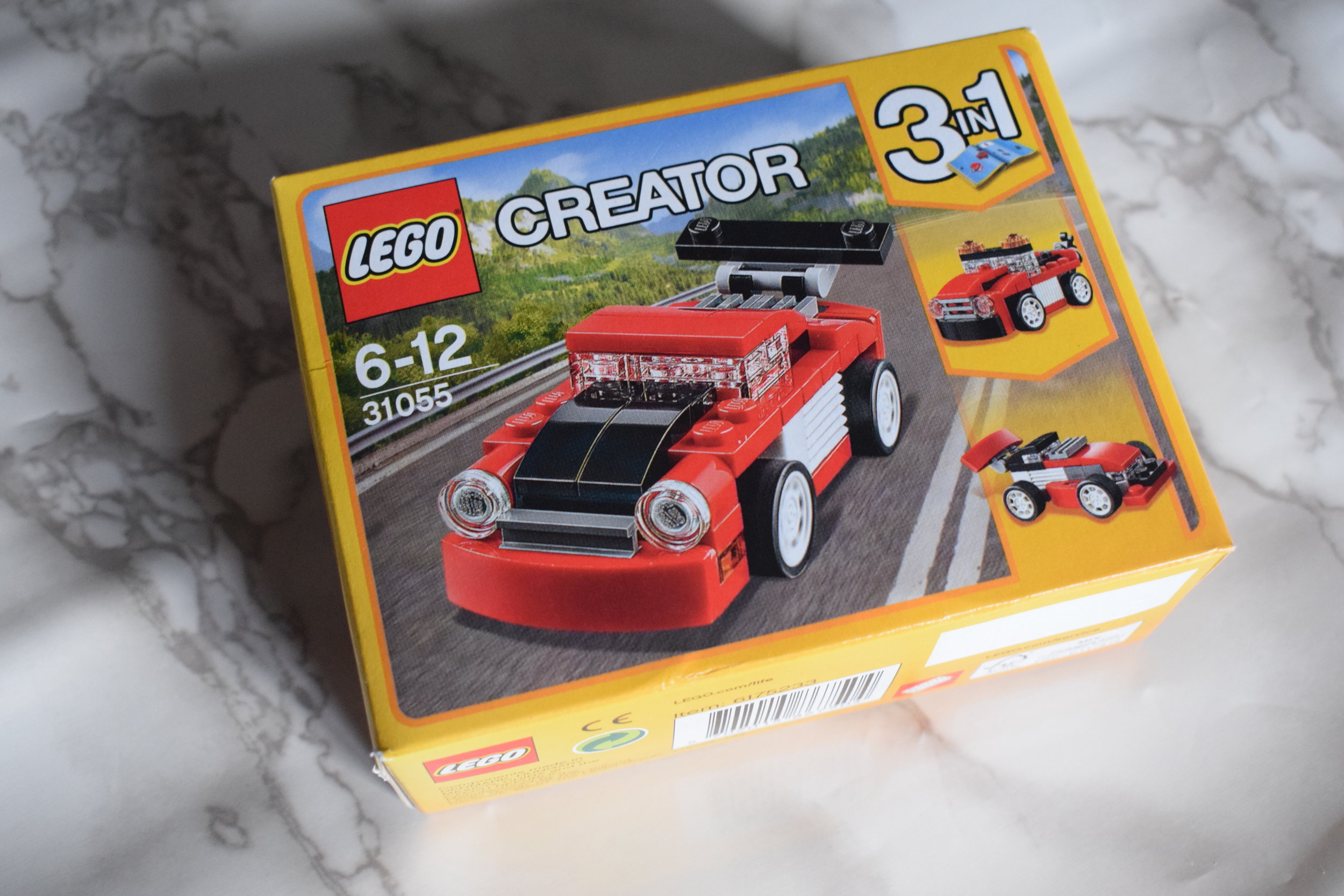LEGO Creator 3 in 1 red vehicle