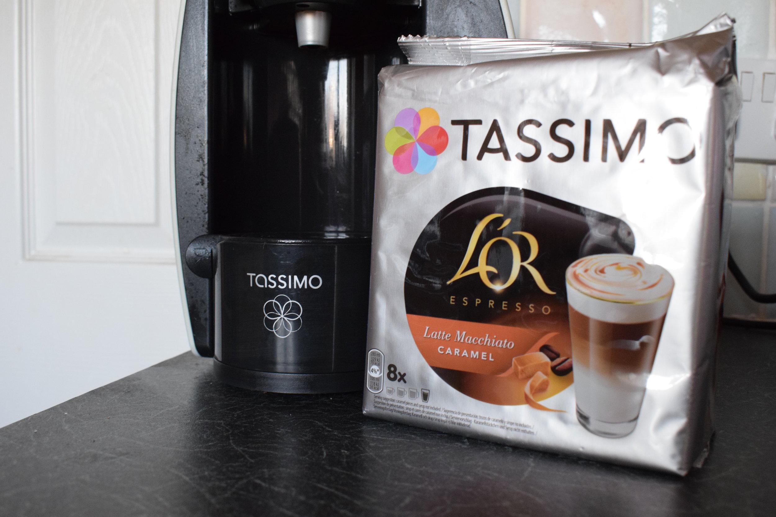 Tassimo L'or Espresso latte macchiato caramel