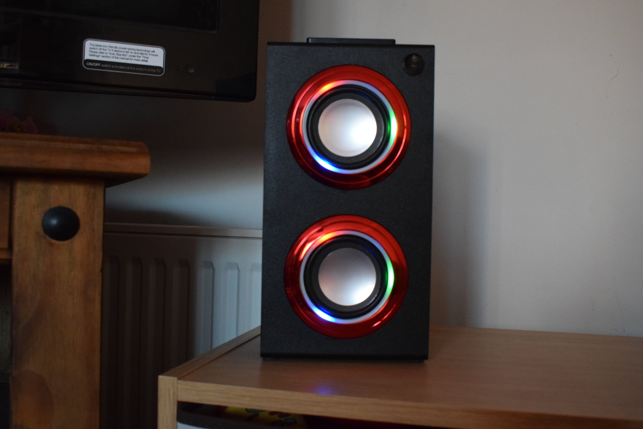 light up bluetooth speaker