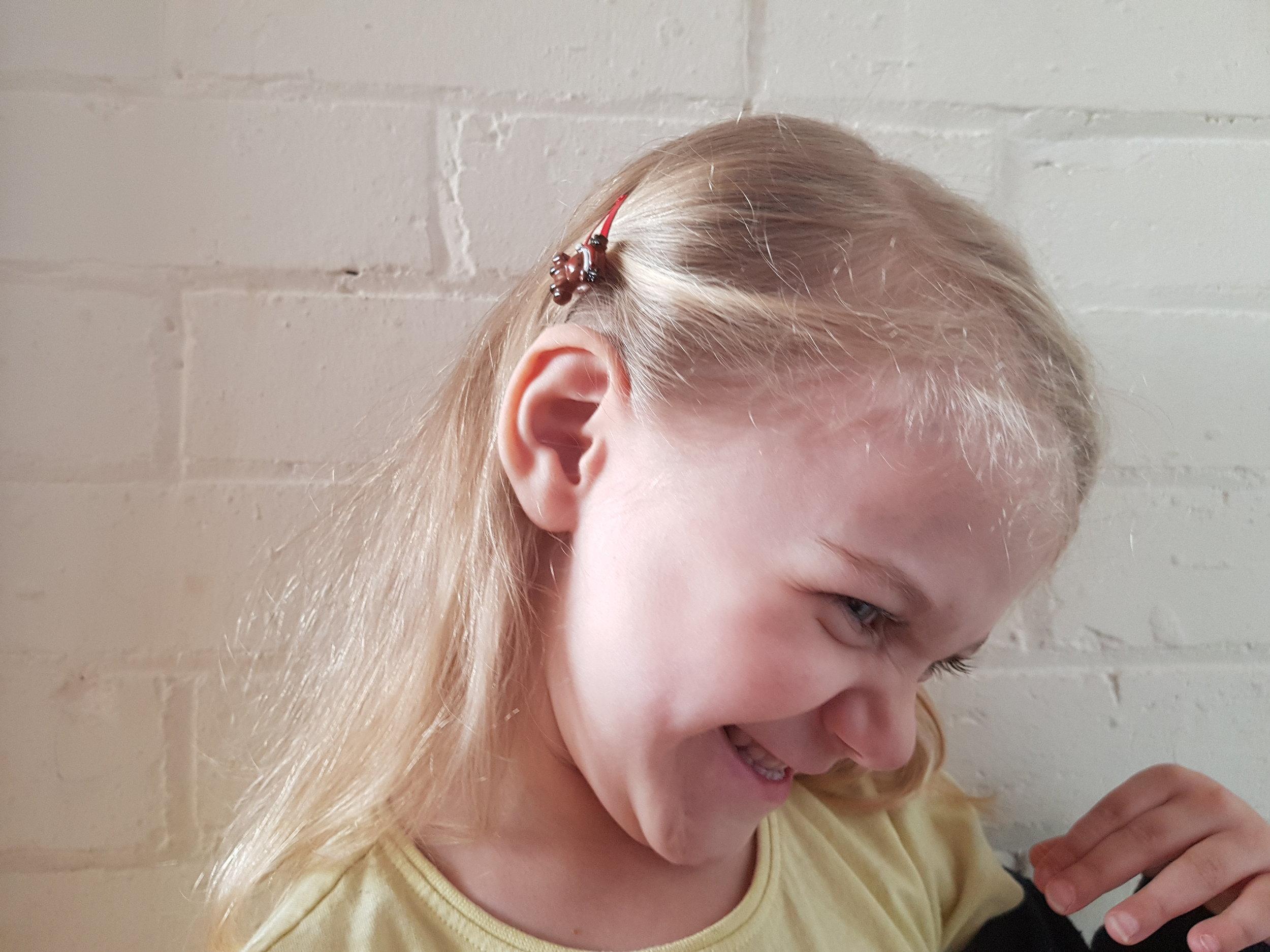Primark rudolph toddler hair clips