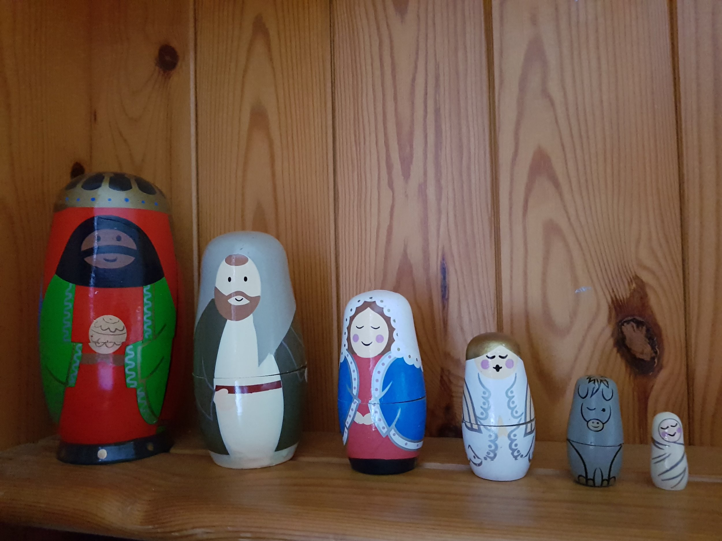 Christmas Nativity stacking doll