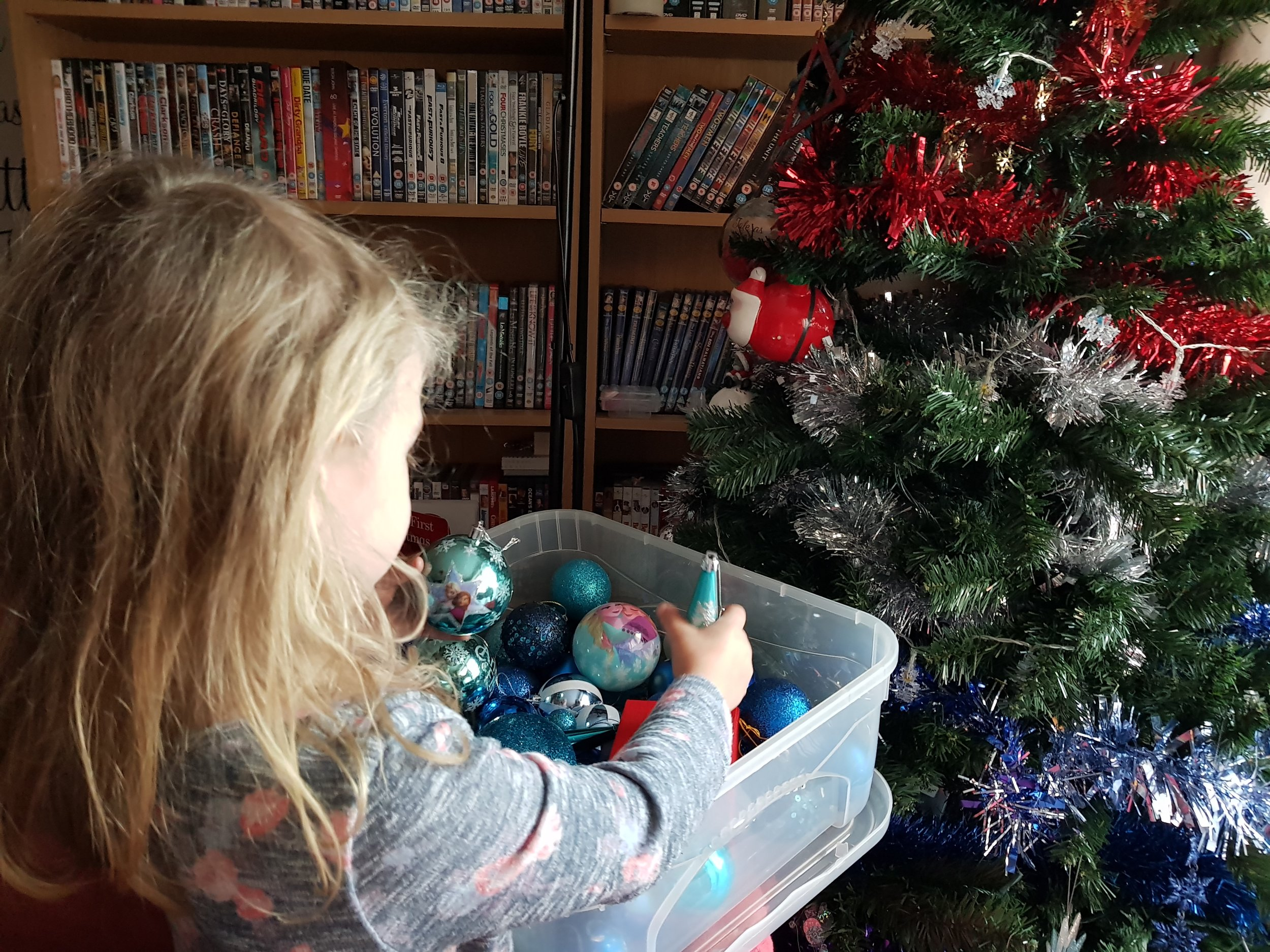 Taking down Christmas