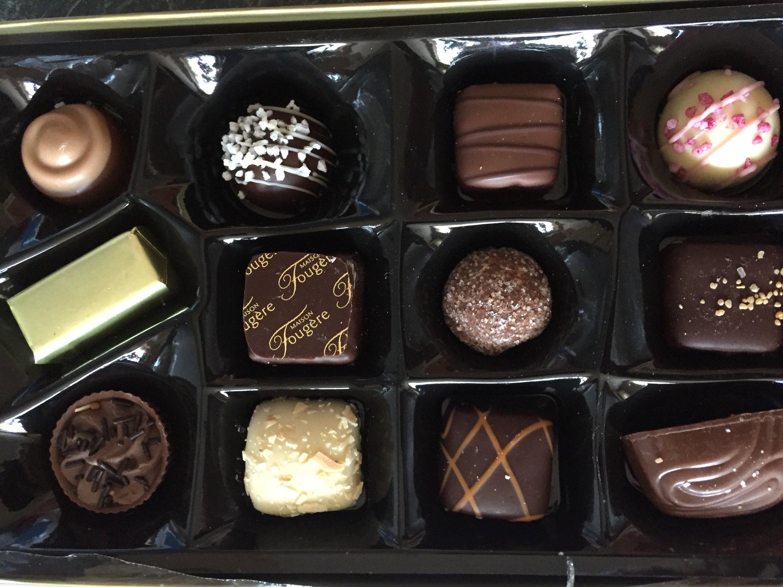 maison fougere belgian chocolates