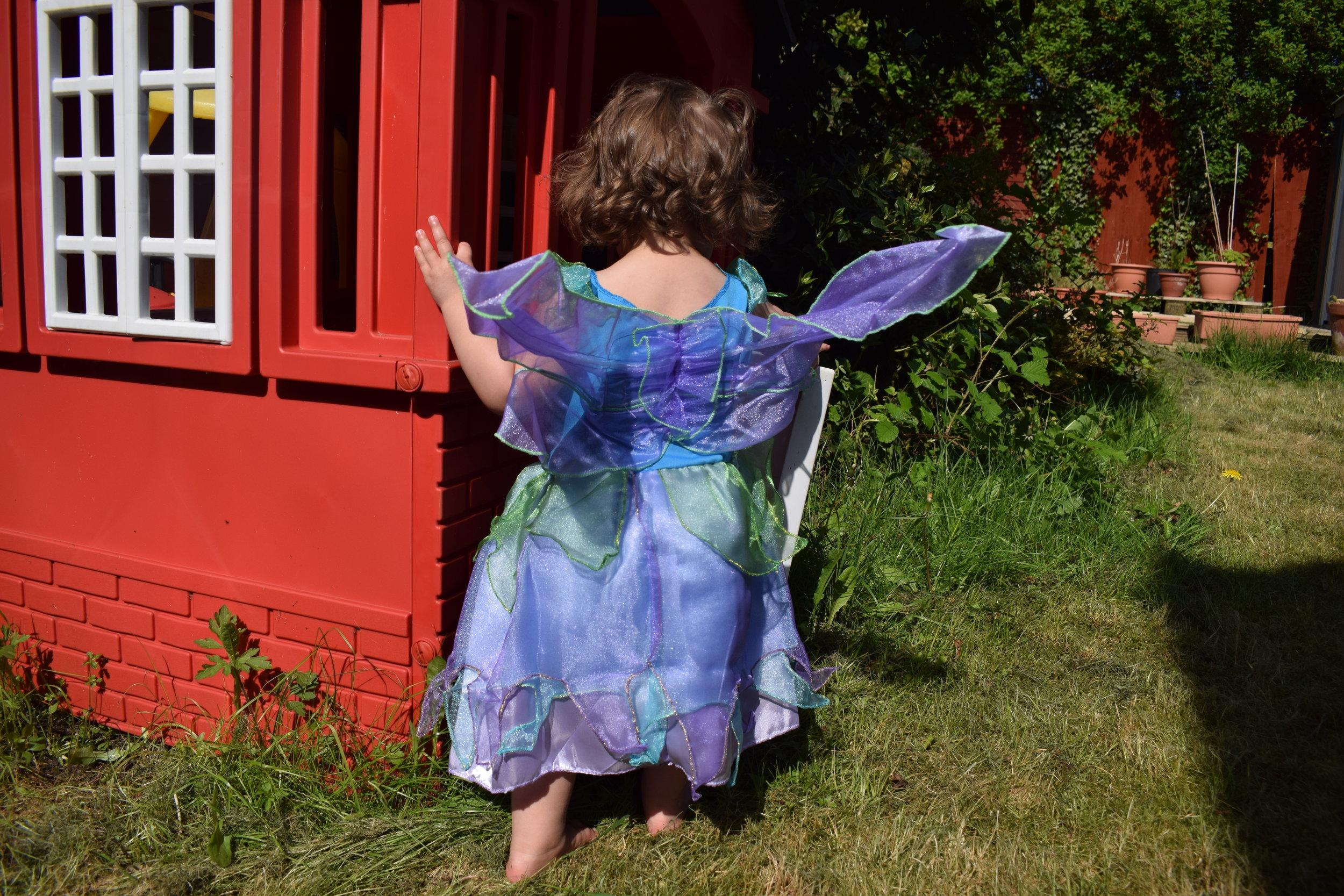 Vegaoo fancy dress fairy girl's costume