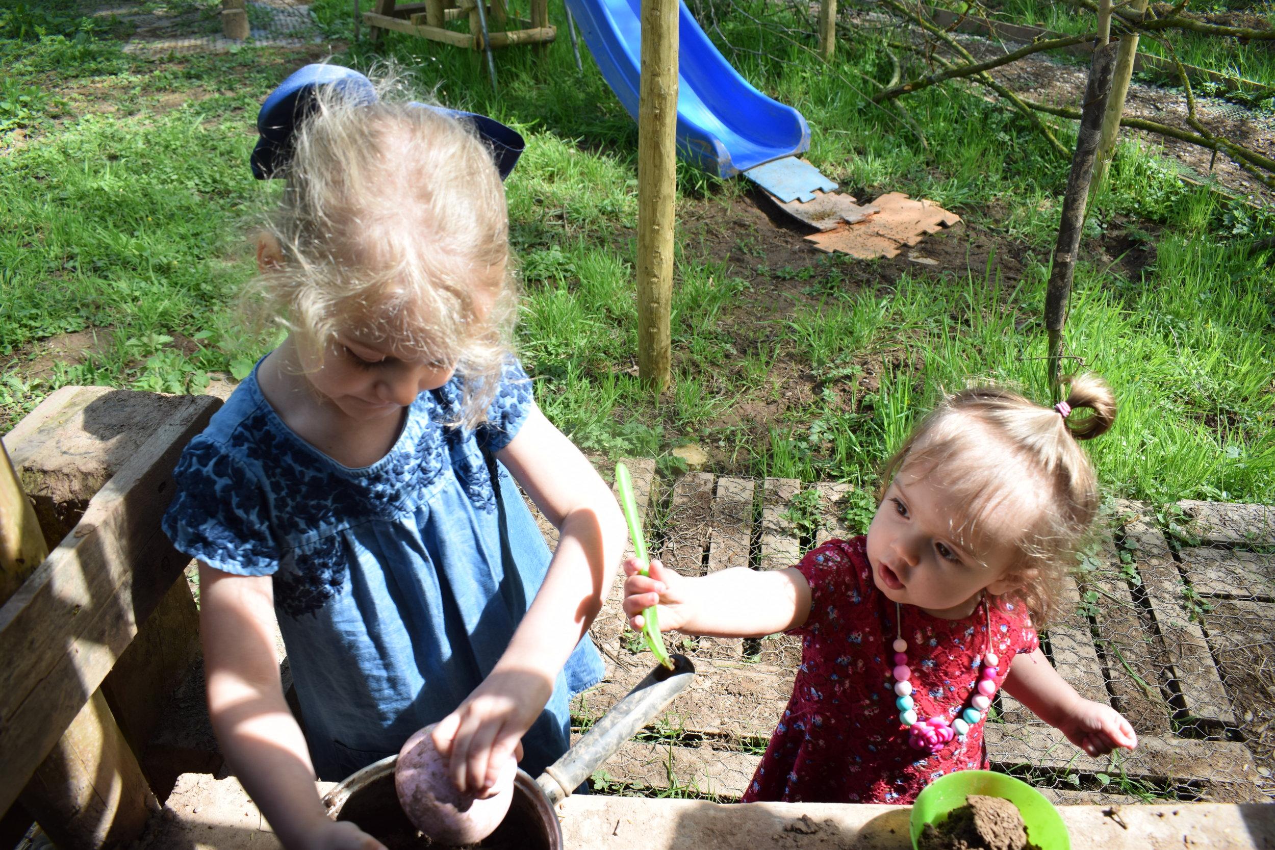 Stocks Wood Outdoor Center mud kitchen