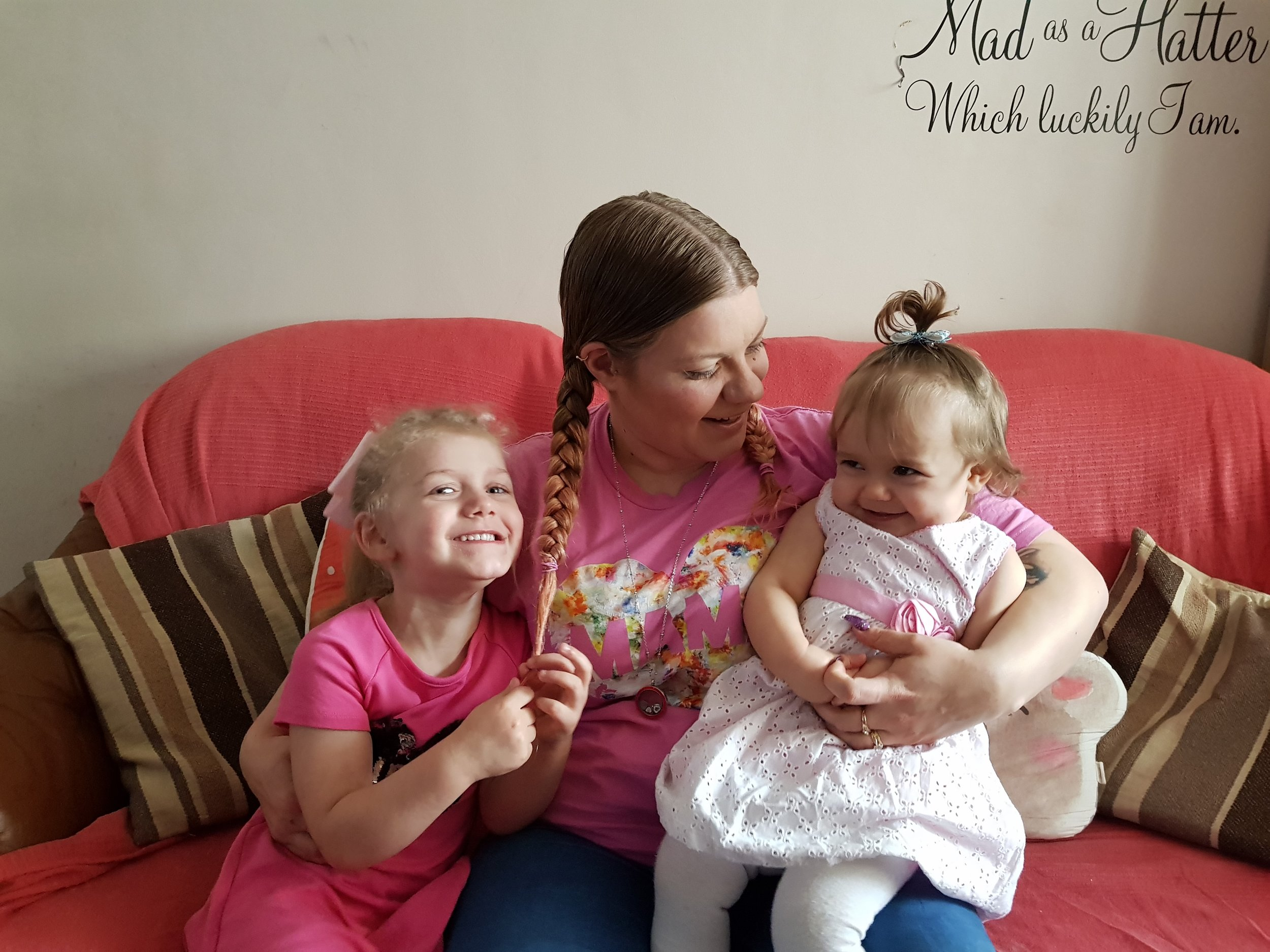 Me Becoming Mum my daughters and me