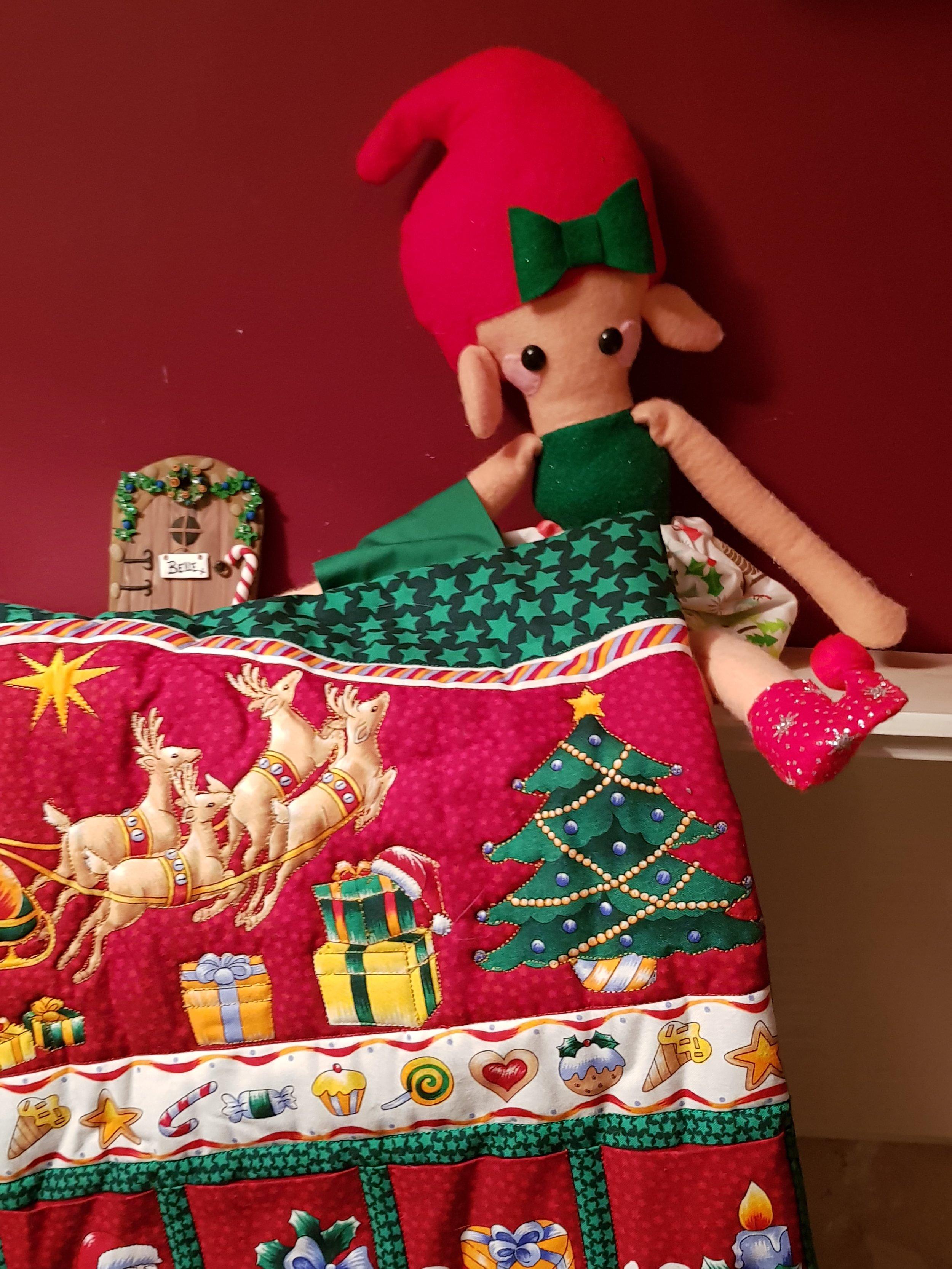 Elf on a Shelf December 1st Advent Calendar