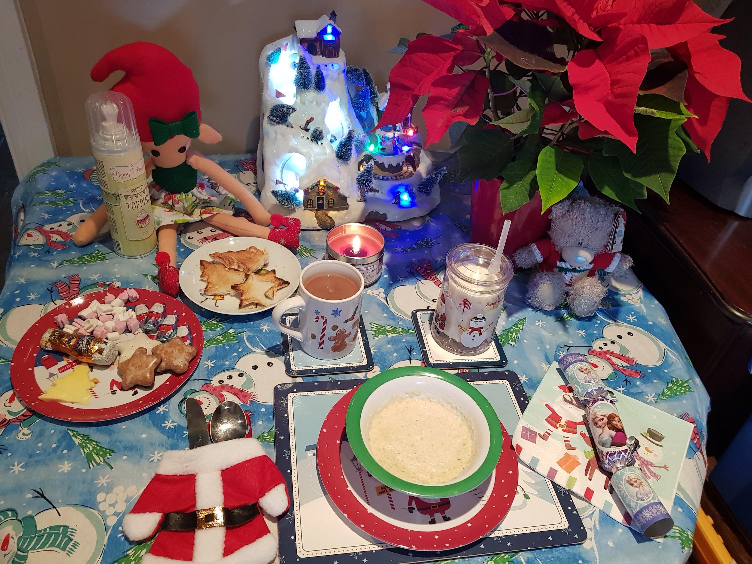 Elf on a Shelf December 7th North Pole Breakfast