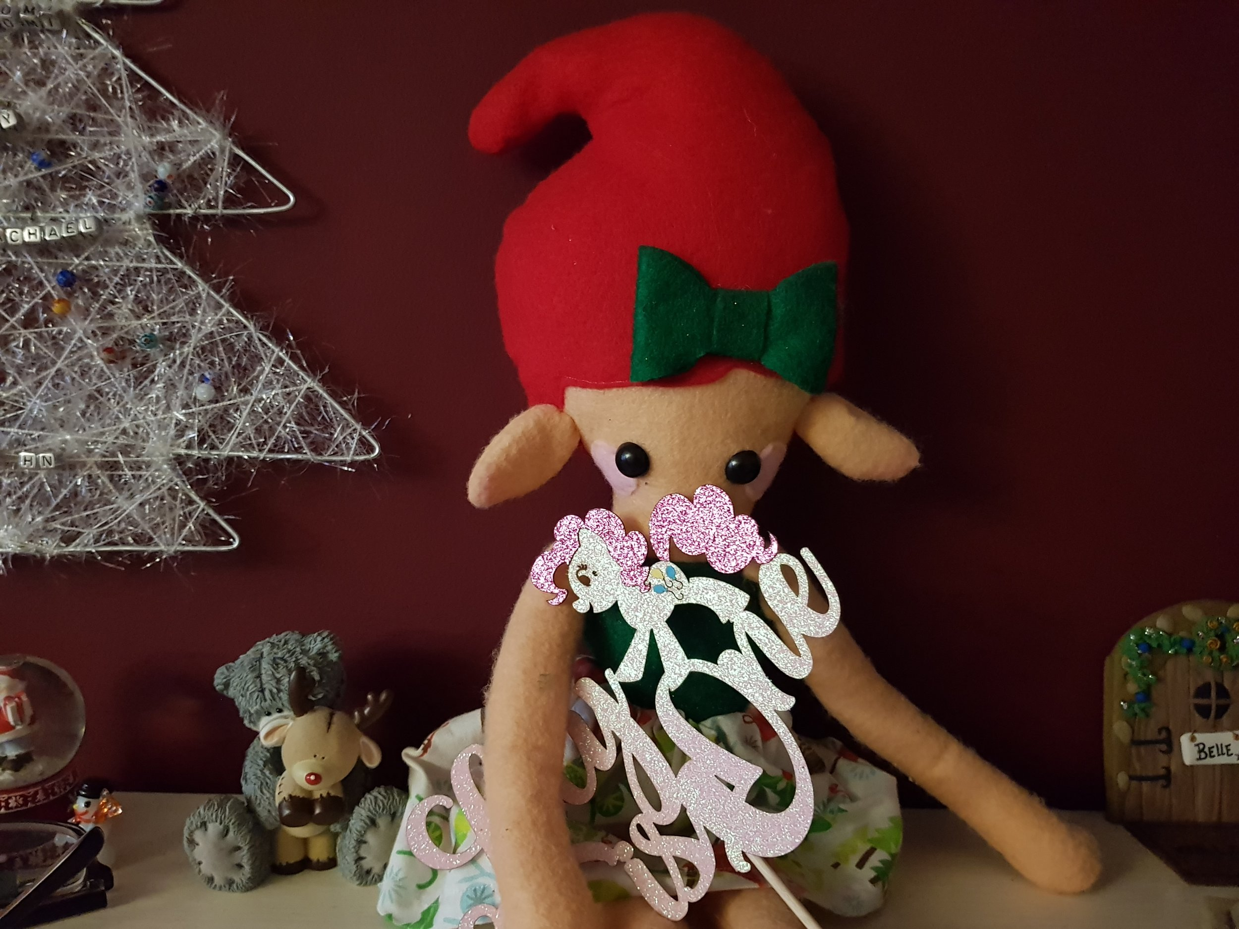 Elf on a Shelf December 17th Birthday Party