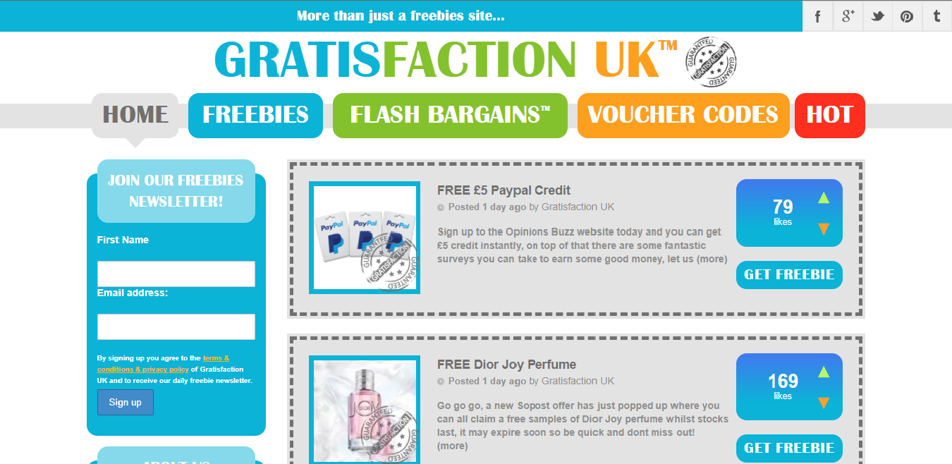 Gratisfaction UK