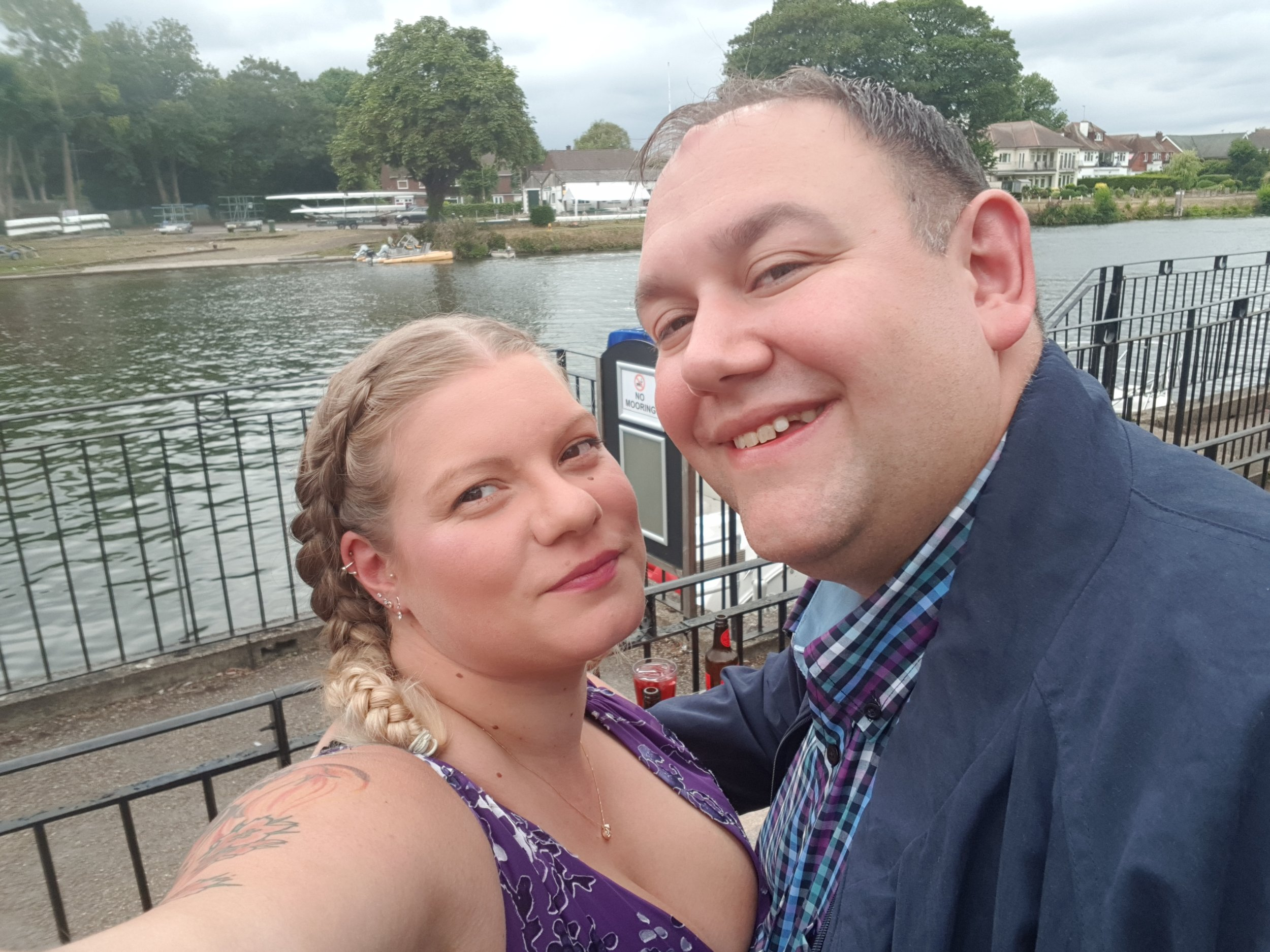 Selfie at Thames Lodge in Staines