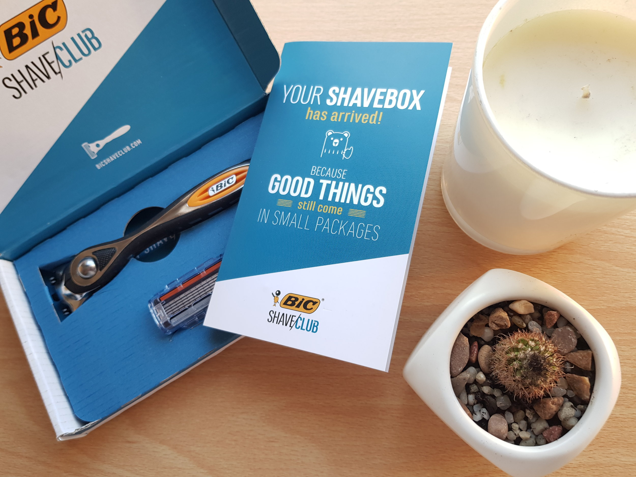 Bic shave club Me Becoming Mum's Christmas Gift Ideas for Him