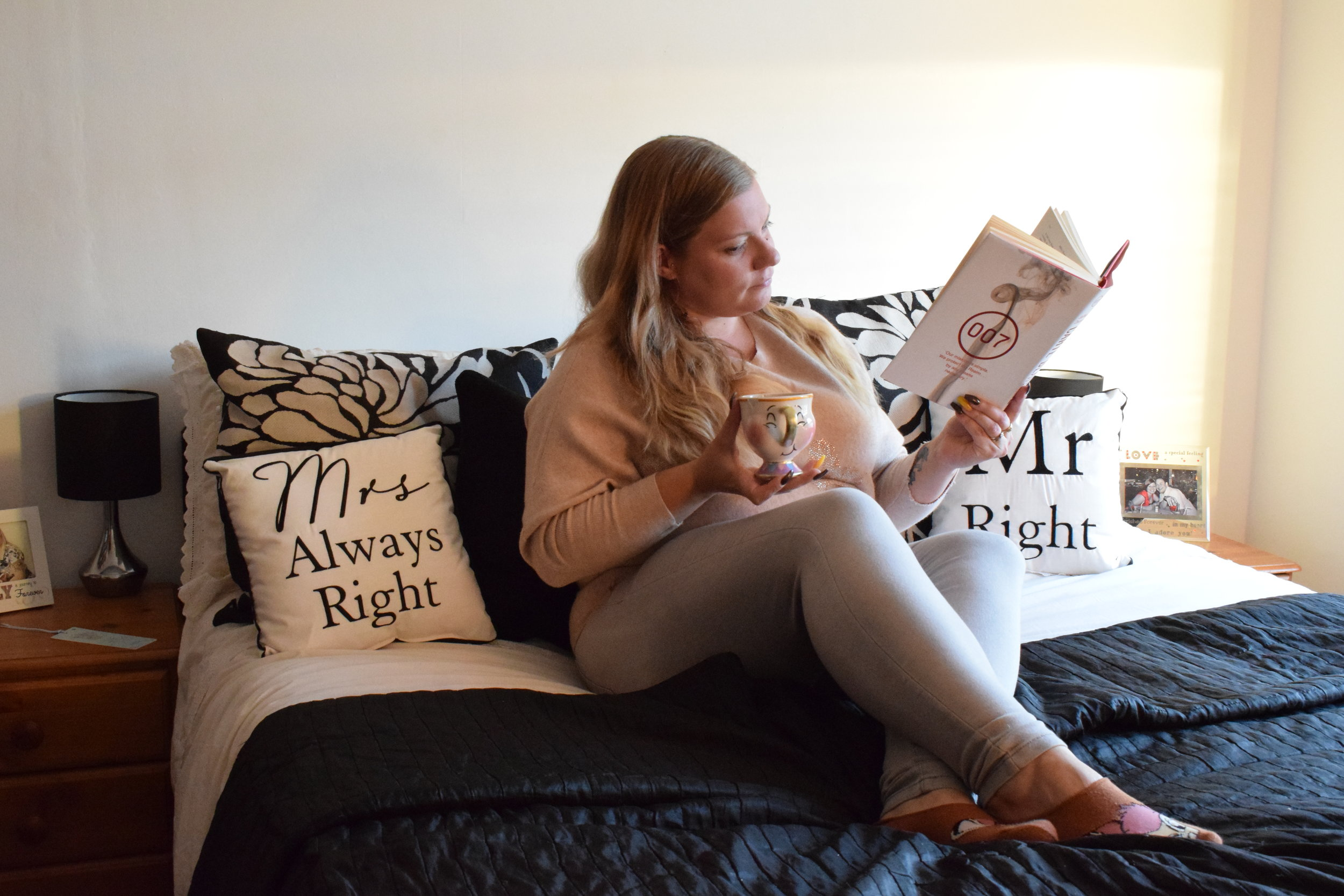 Mr Right and Mrs Always Right Cushions from Find Me A Gift Me Becoming Mum's Christmas Gift Ideas for Her