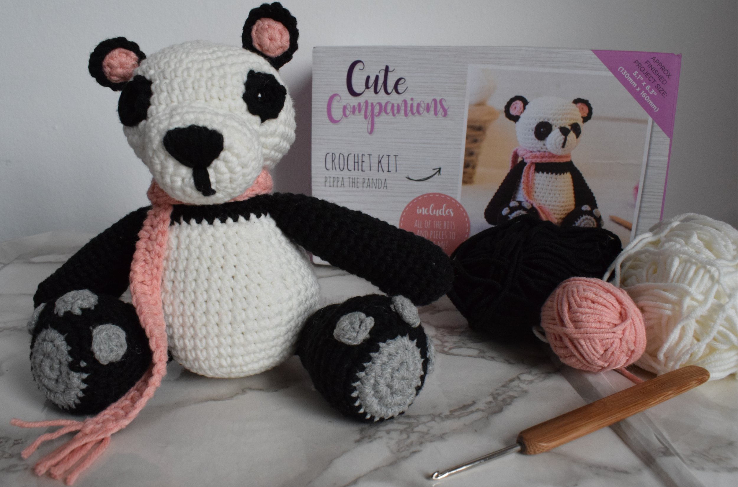 Crafter's Companion Cute Companions Crochet Kit Me Becoming Mum's Christmas Gift Ideas for Her