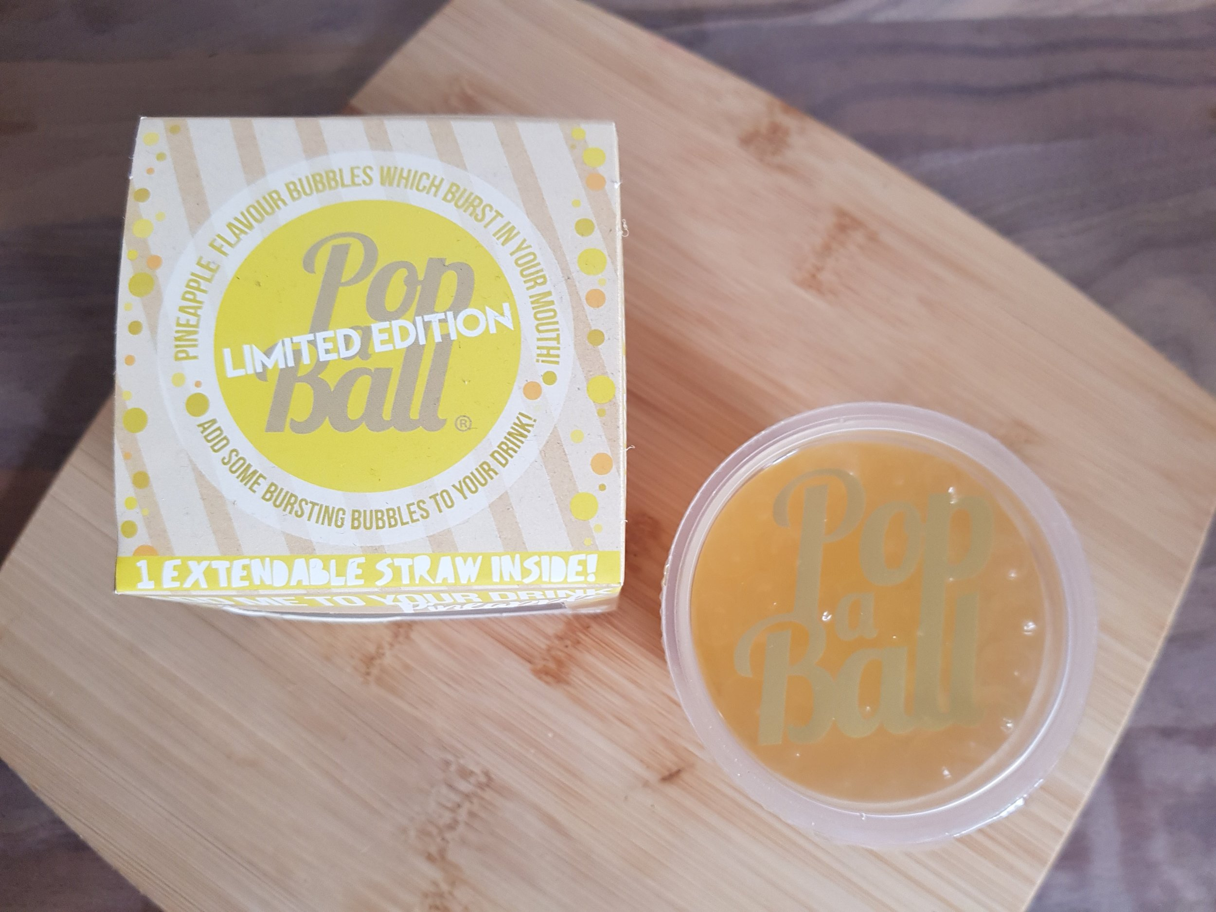 Popaball Limited Edition Pineapple Bursting Bubbles Me Becoming Mum's Christmas Stocking Fillers for Her