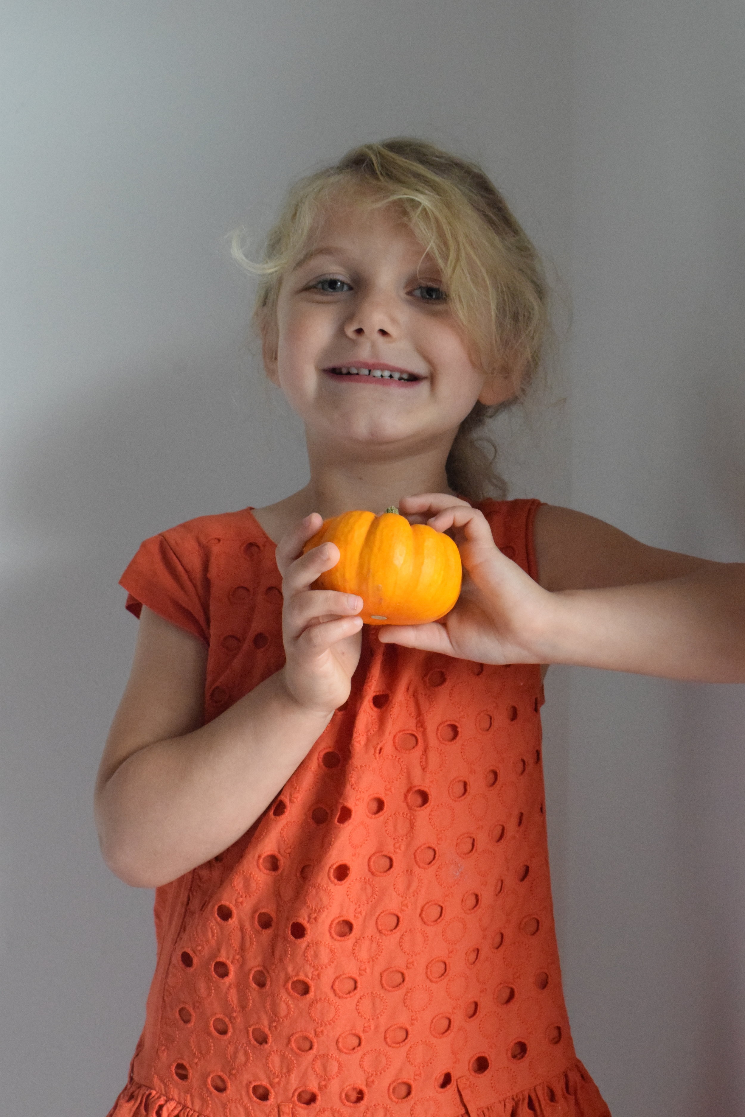 Squidgy and her baby pumpkin