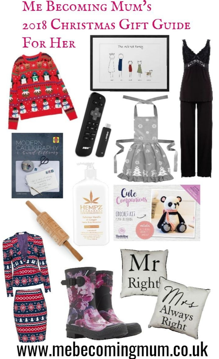 Me Becoming Mum's 2018 Christmas Gift Guide for Her