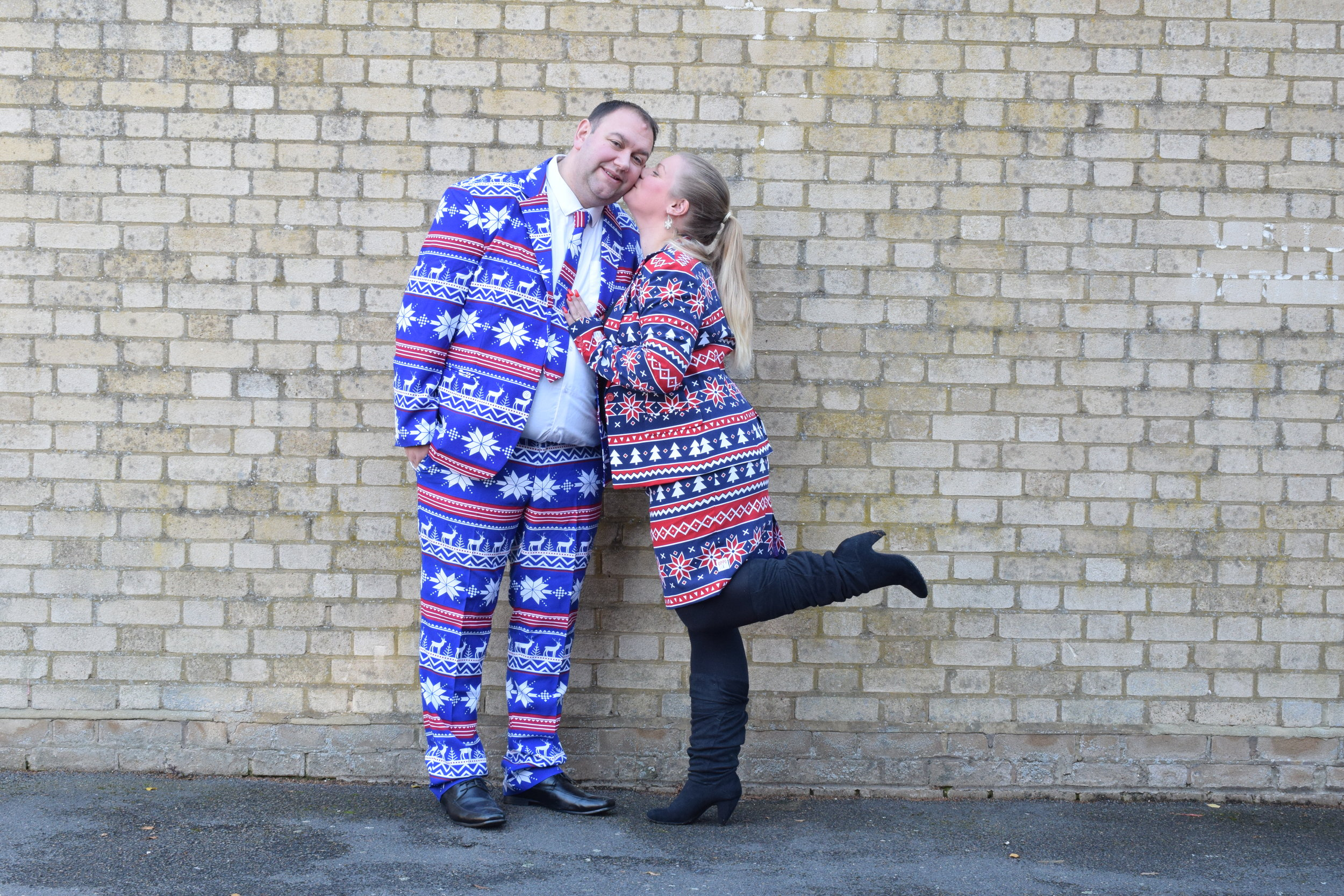 Christmas Suits for men and women from OppoSuits