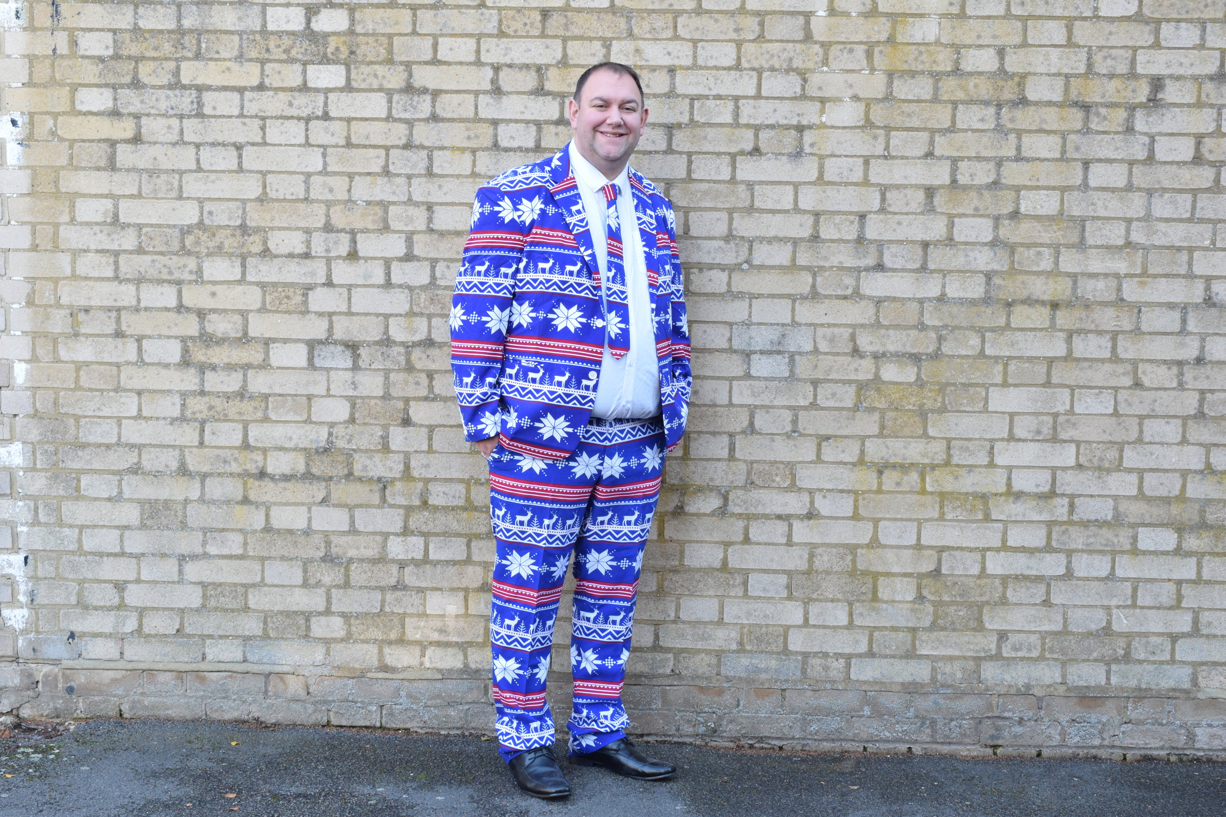 The Rudolph Christmas Suits for men from OppoSuits