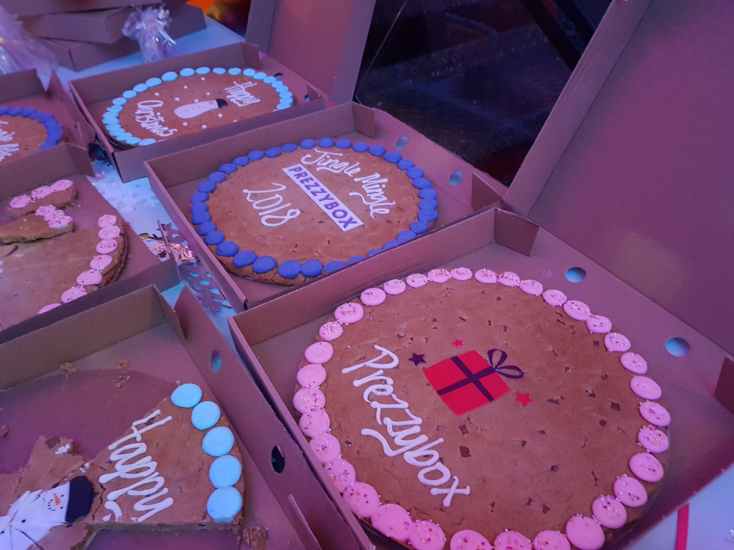 Prezzybox Jingle Mingle Ooh & Aah personalised cookies