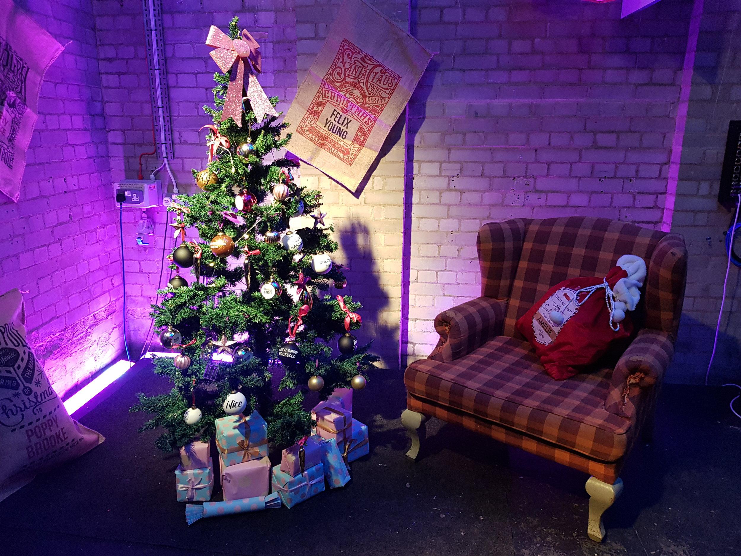 Prezzybox Jingle Mingle personalised Christmas sacks