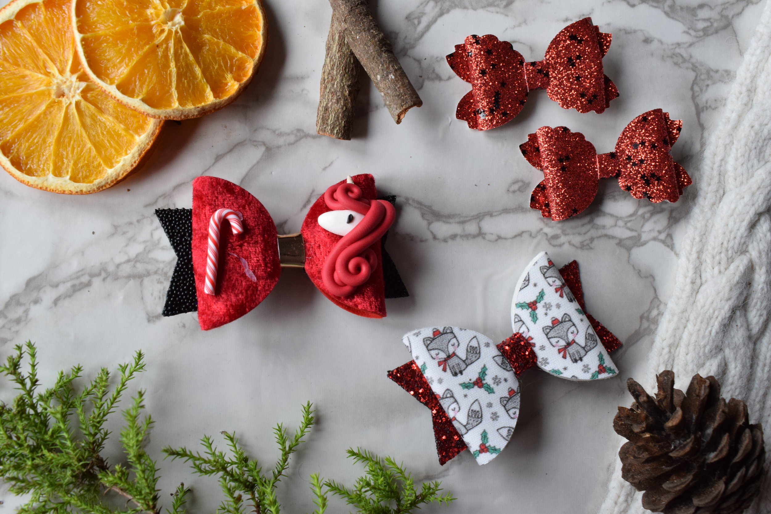 Hair Bows by Maya's Bows Me Becoming Mum's Stocking Fillers for Under 5s