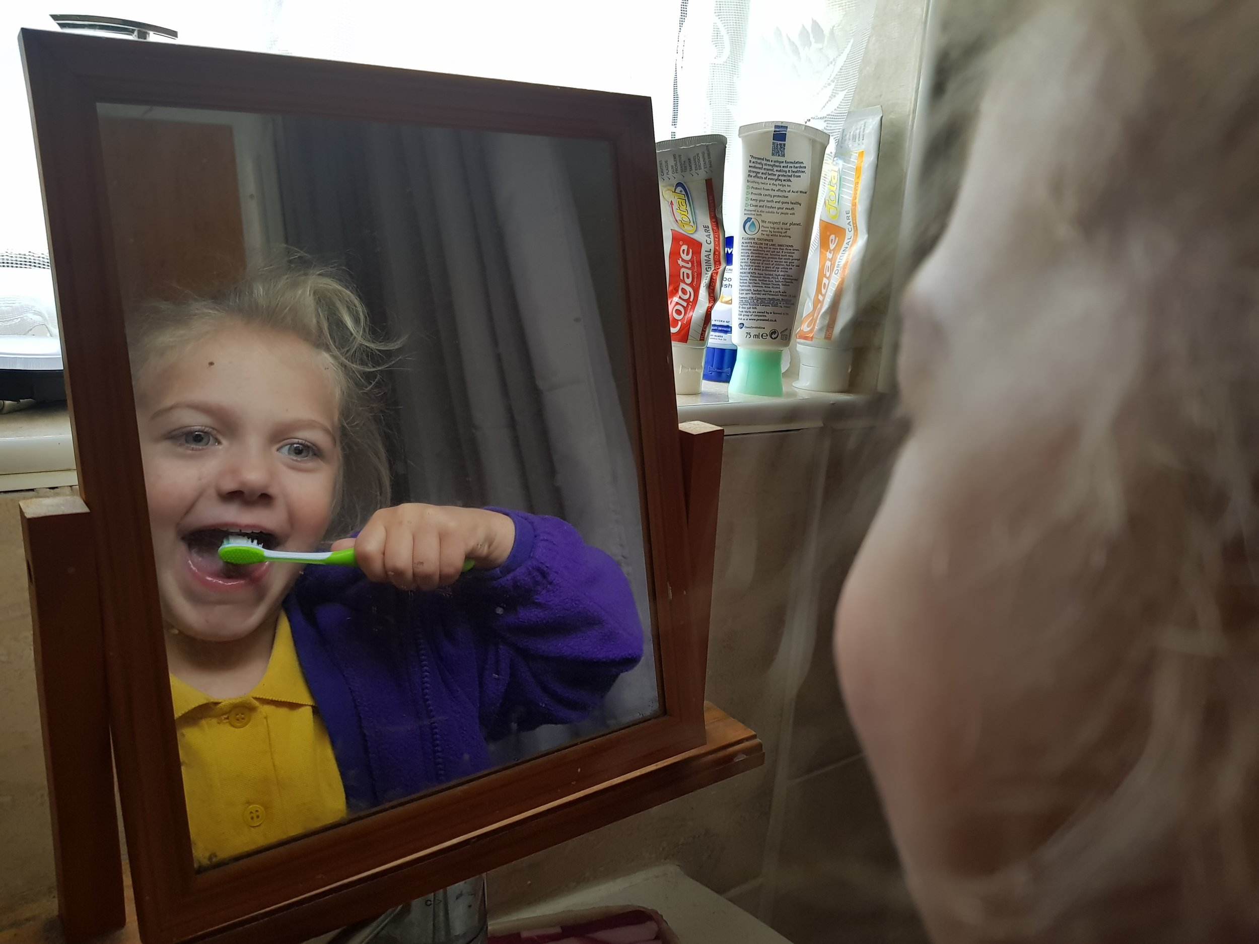 Tooth brush and tooth paste Me Becoming Mum's Stocking Fillers for Under 5s