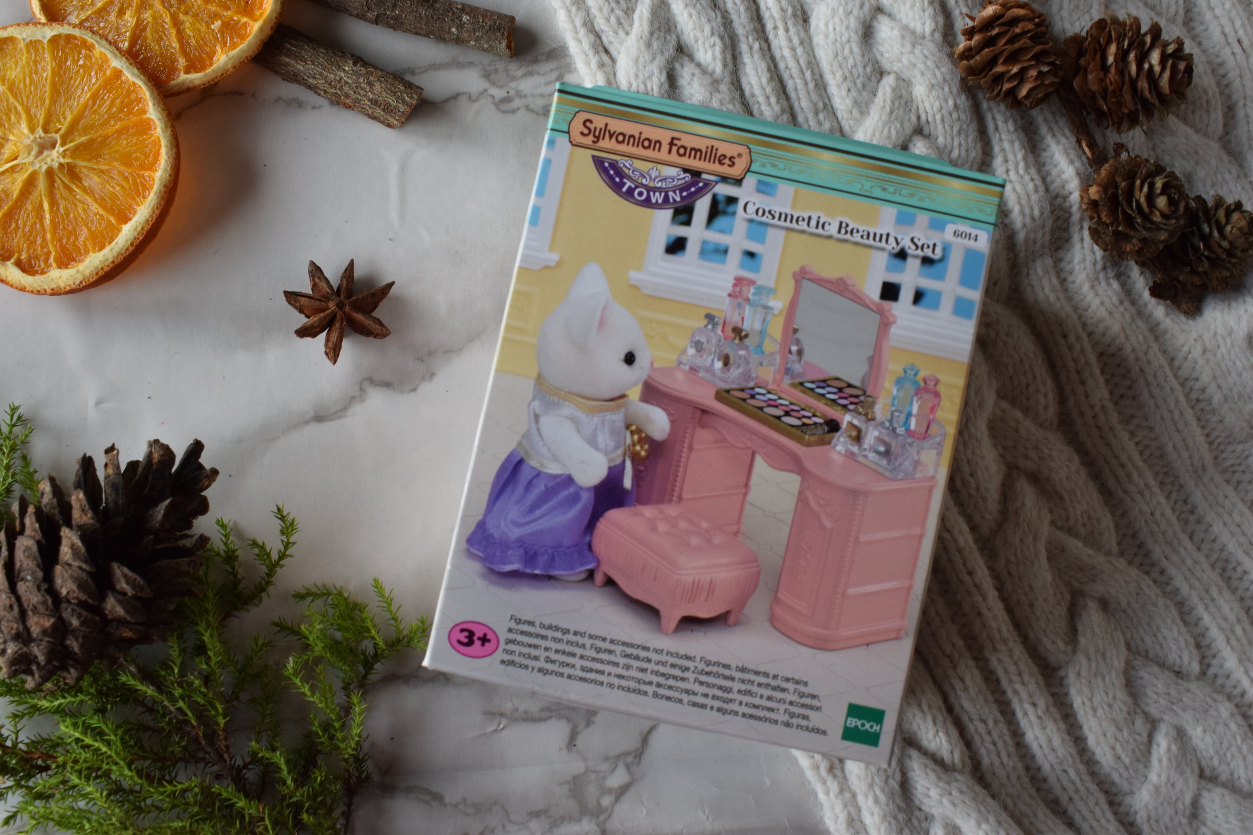 Sylvanian Families Cosmetic Beauty Set Me Becoming Mum's Stocking Fillers for Under 5s