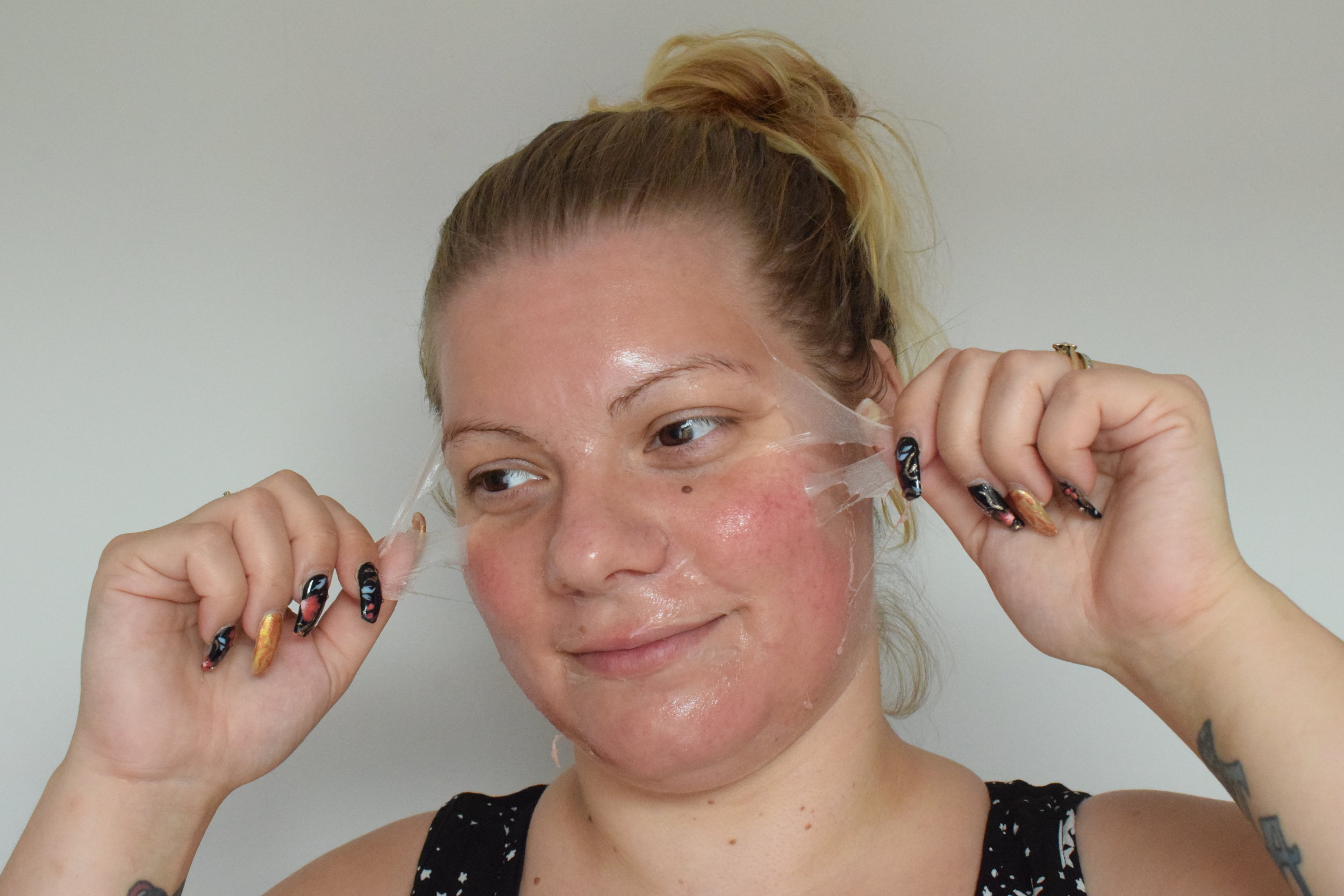Blackcurrant Burst Peel Off Face Mask Me Becoming Mum's Christmas Stocking Fillers for Her