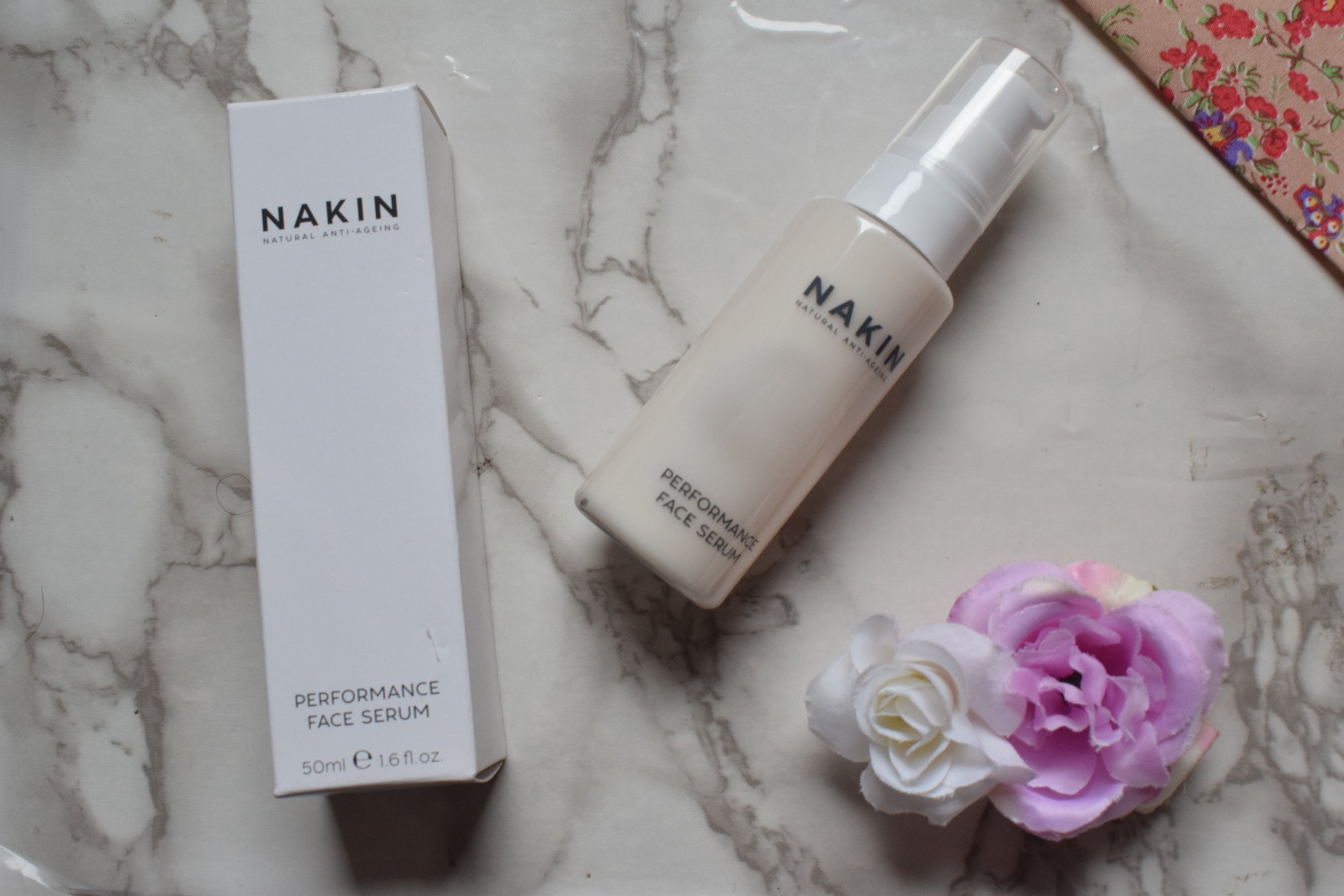 Nakin Performance Face Serum Me Becoming Mum's Christmas Stocking Fillers for Her
