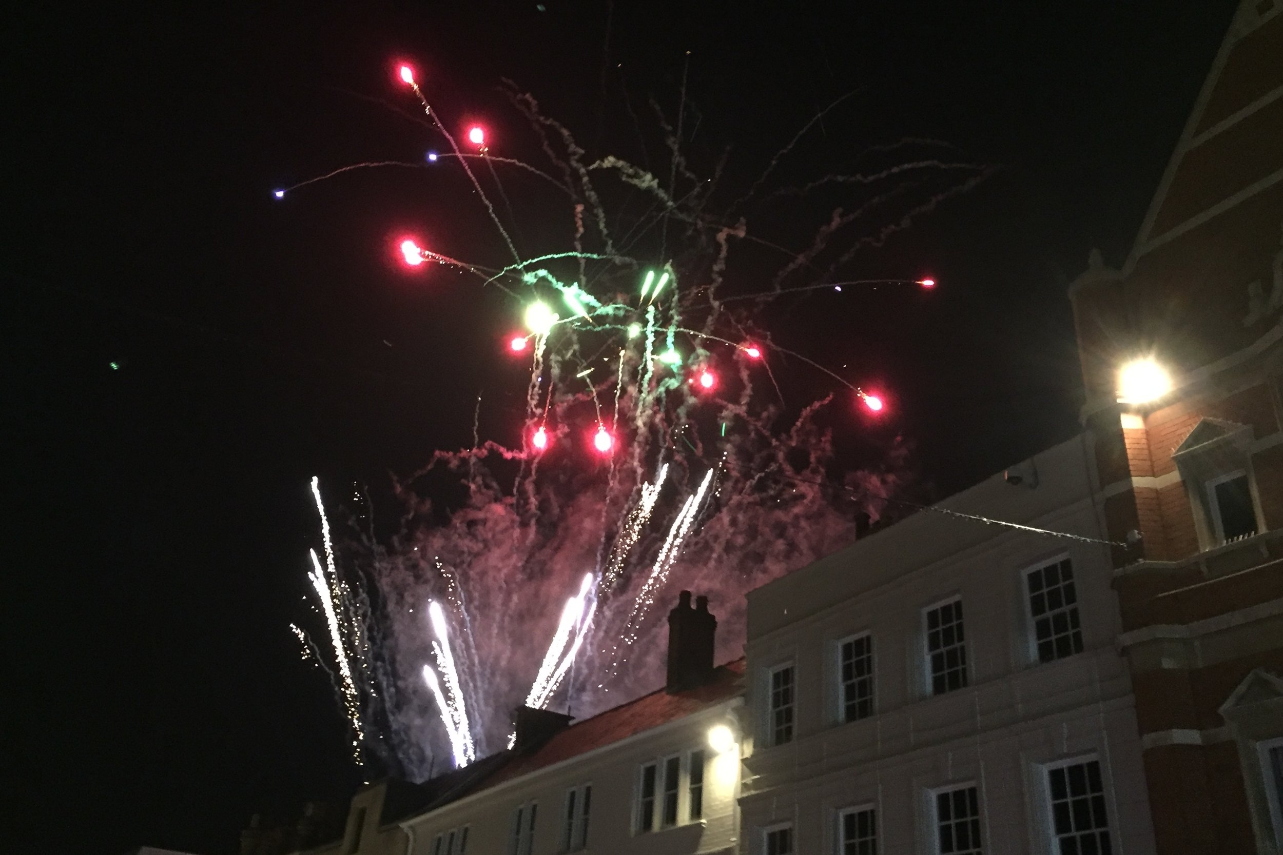 Peterborough light switch on 2017 fireworks