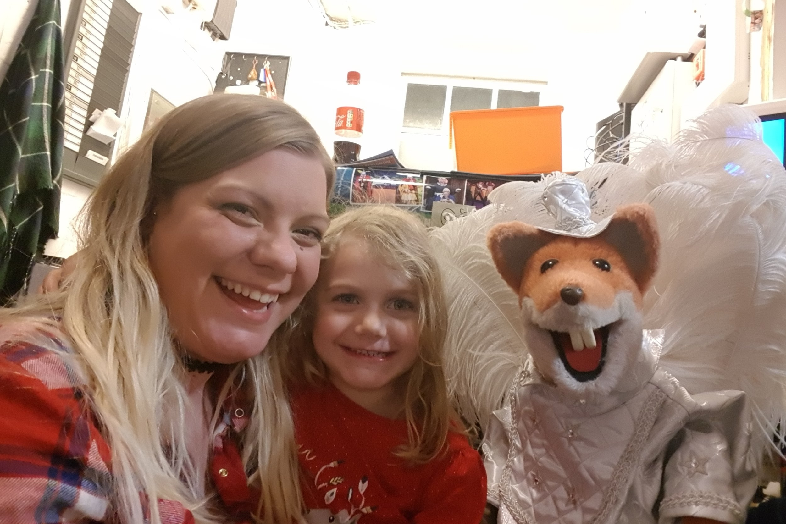 Windsor Theatre Royal sleeping beauty panto featuring Basil Brush