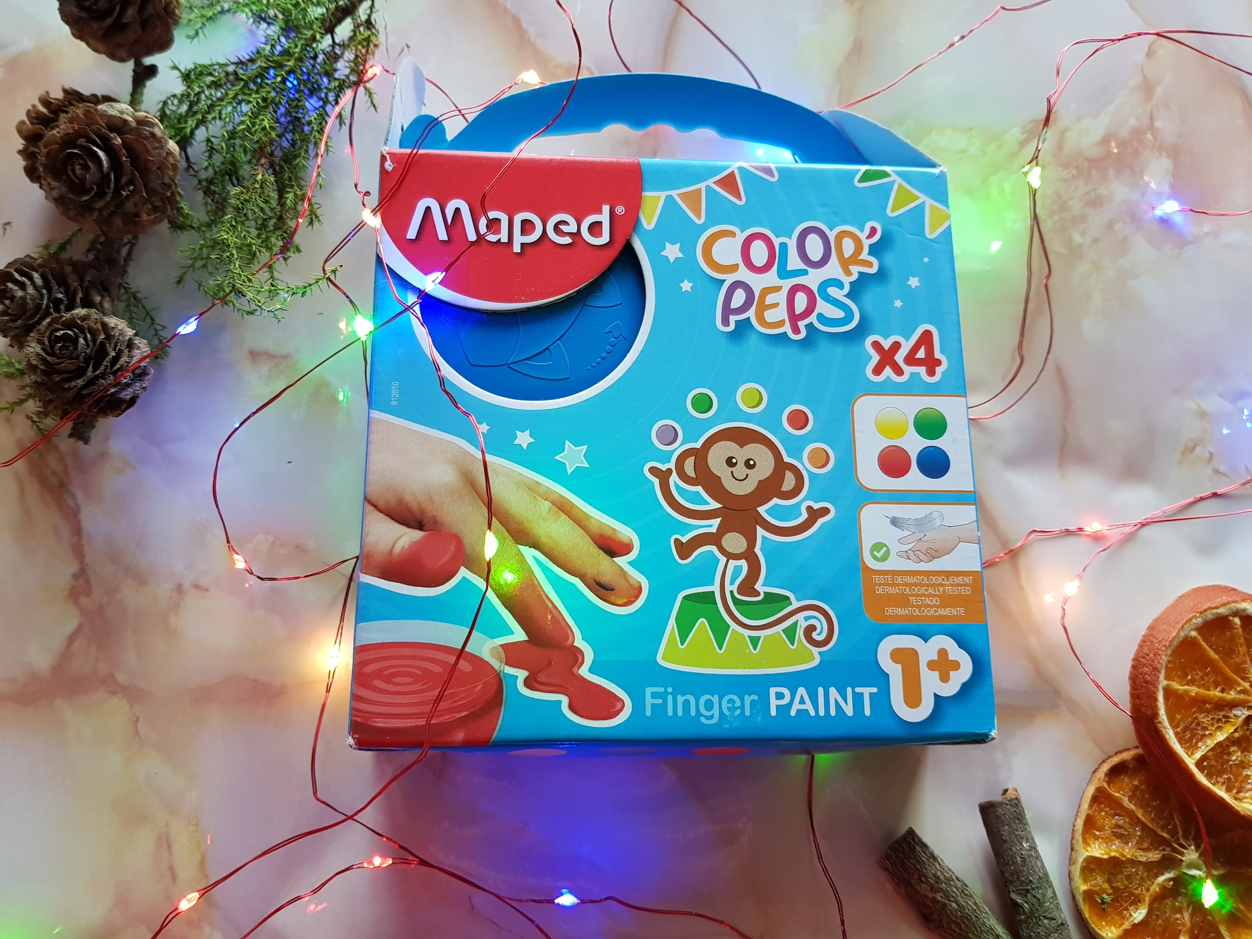 Maped Colour' Peps Finger Paint Me Becoming Mum's Christmas Gifts for Two Year Olds