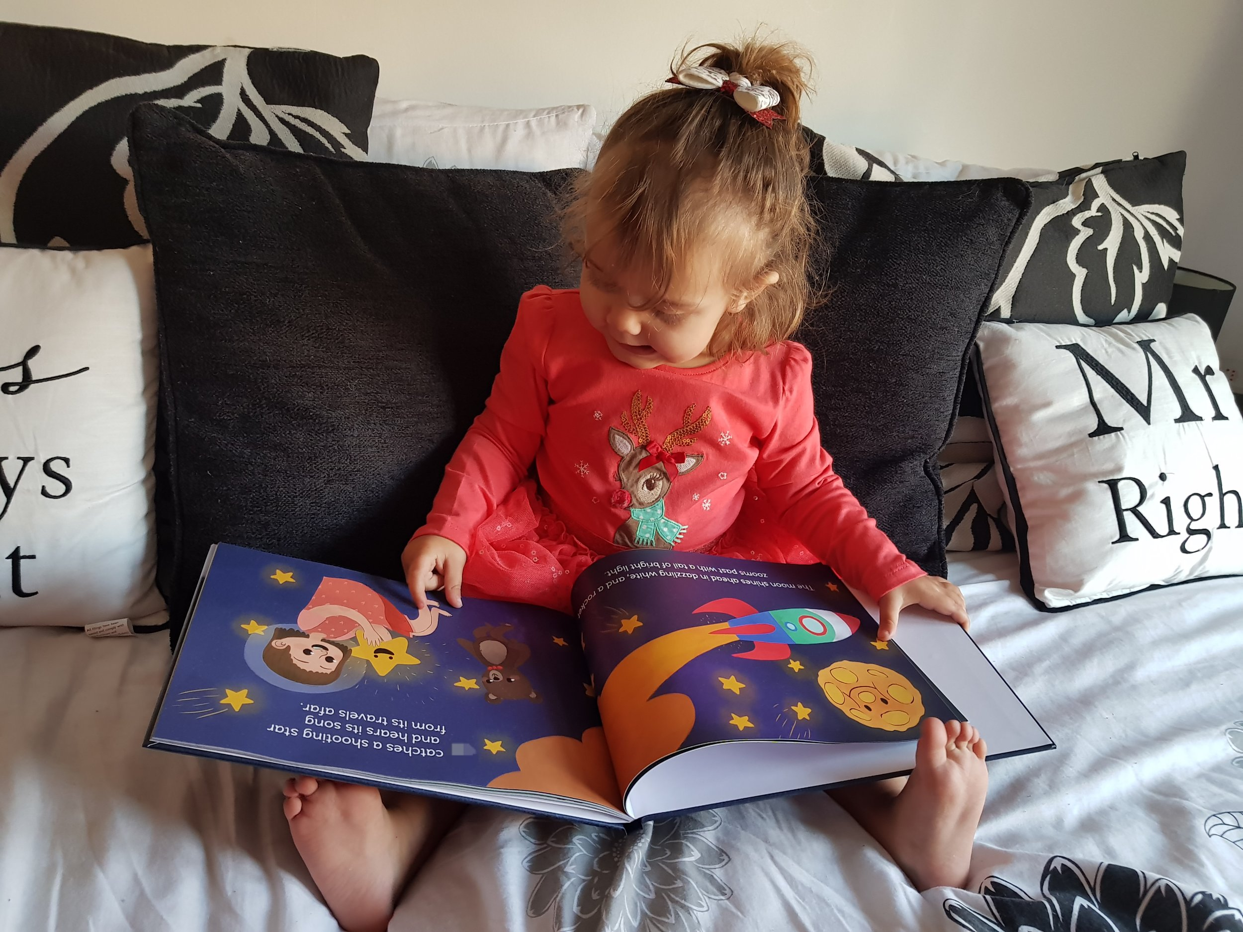 Chapterful Personalised Story Book Me Becoming Mum's Christmas Gifts for Two Year Olds