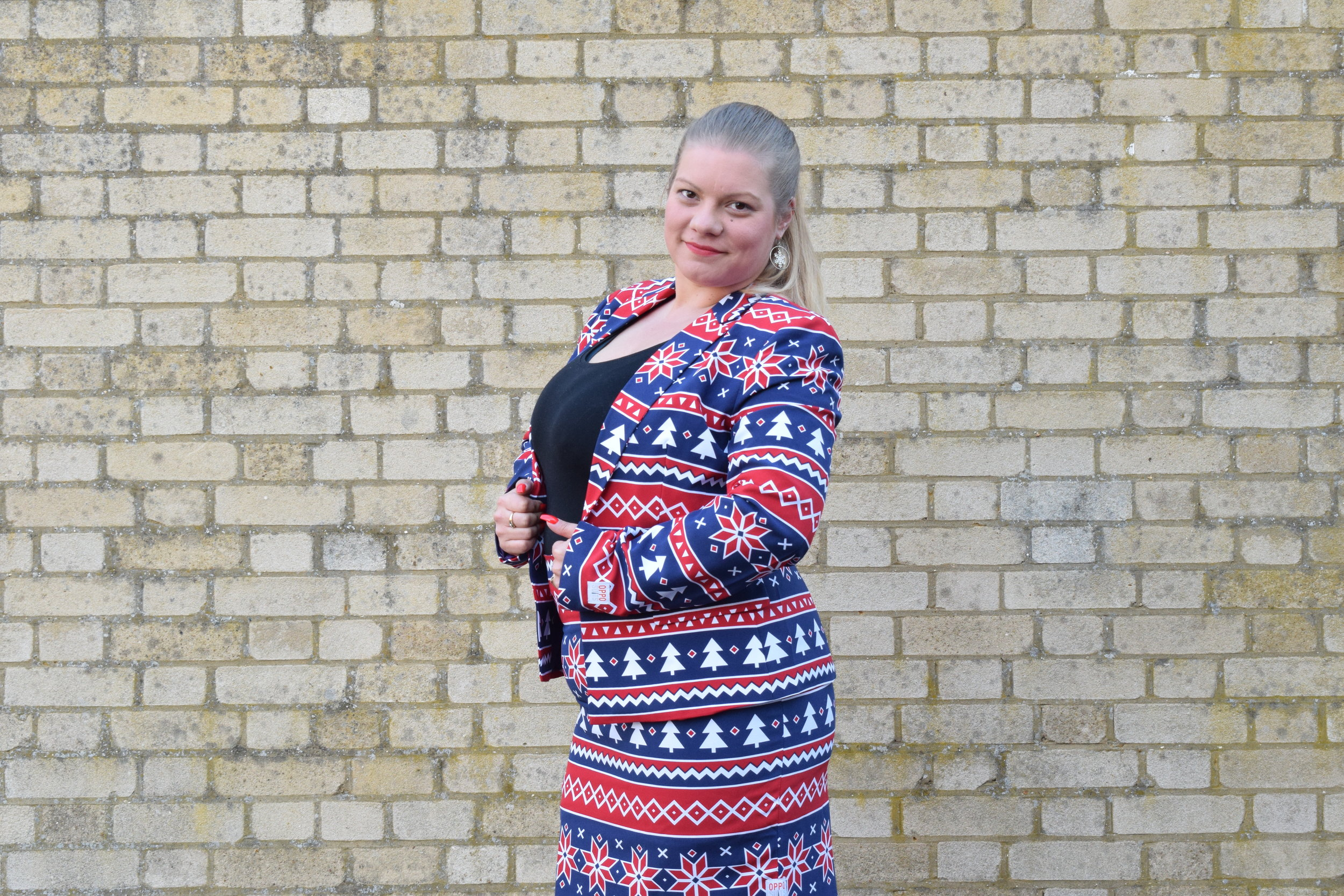 Nordic Noelle Christmas Suits for women from OppoSuits