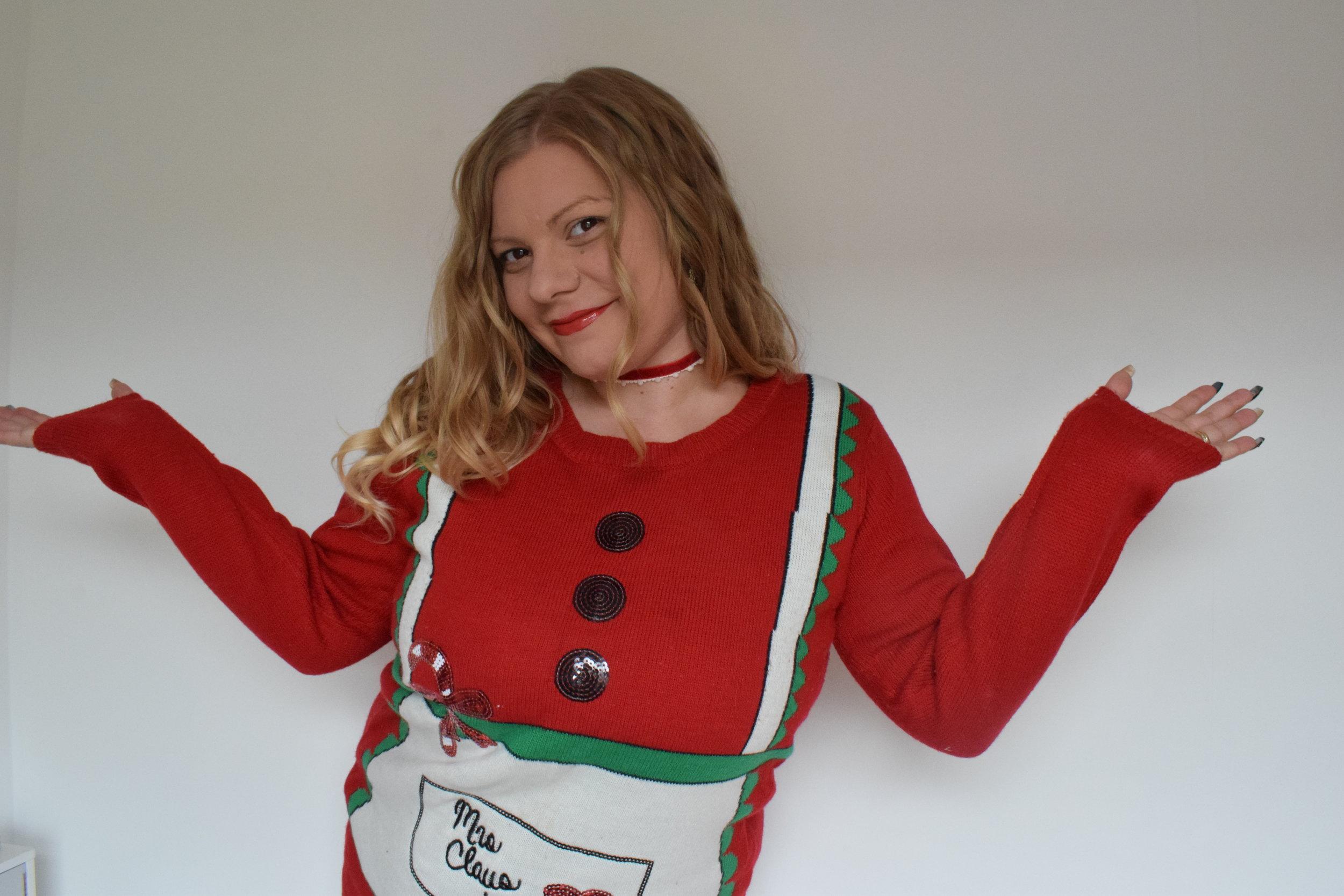 Asda Mrs Claus Christmas Jumper